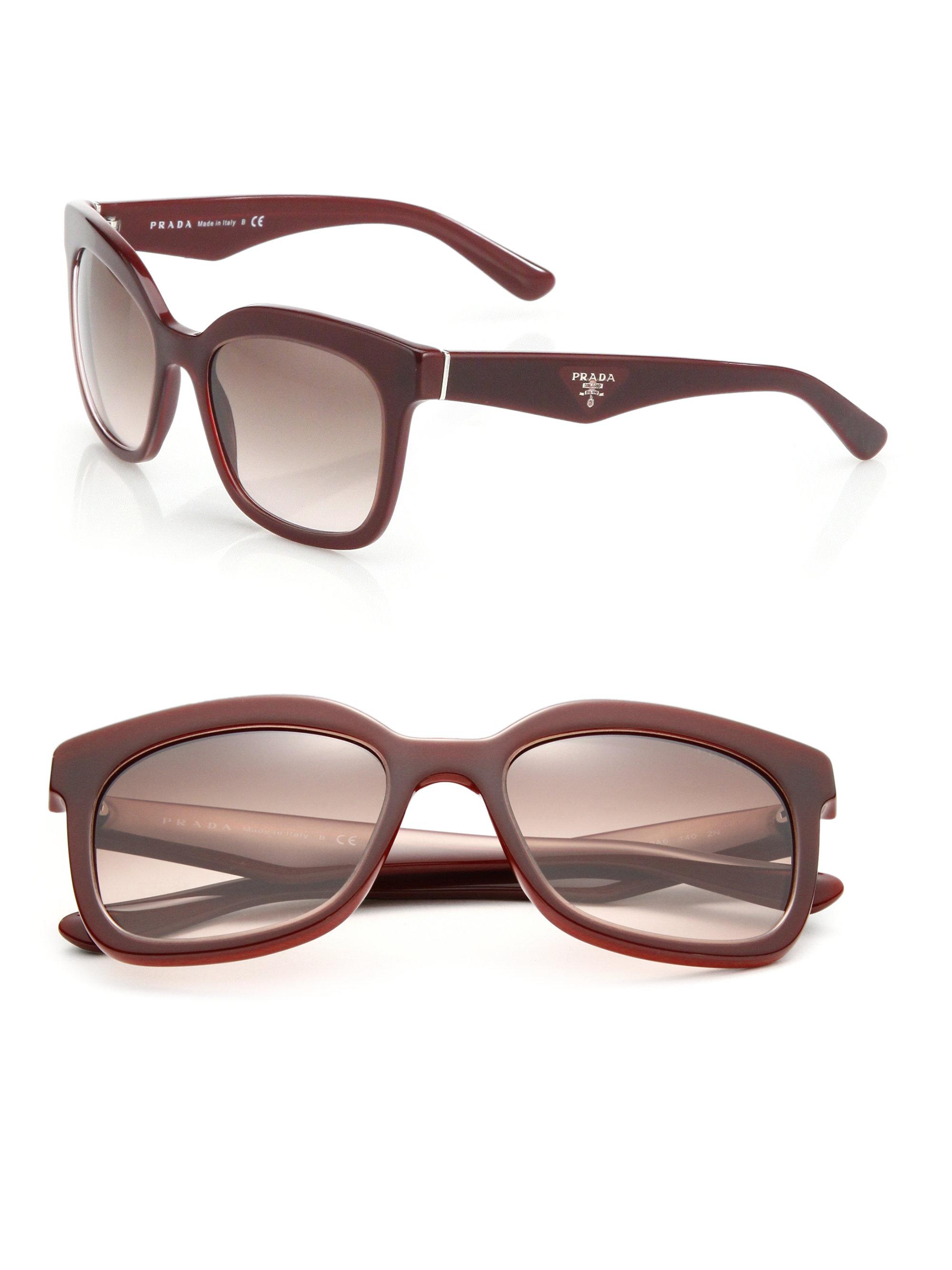 b2bada135af17 Prada Purple Sunglasses