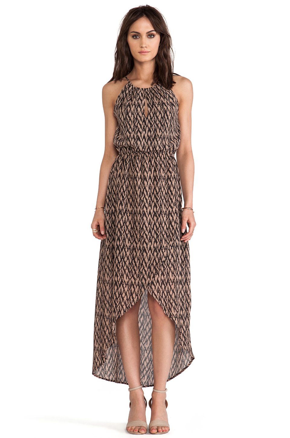 Lyst Sanctuary Cape Town Maxi Dress In Brown
