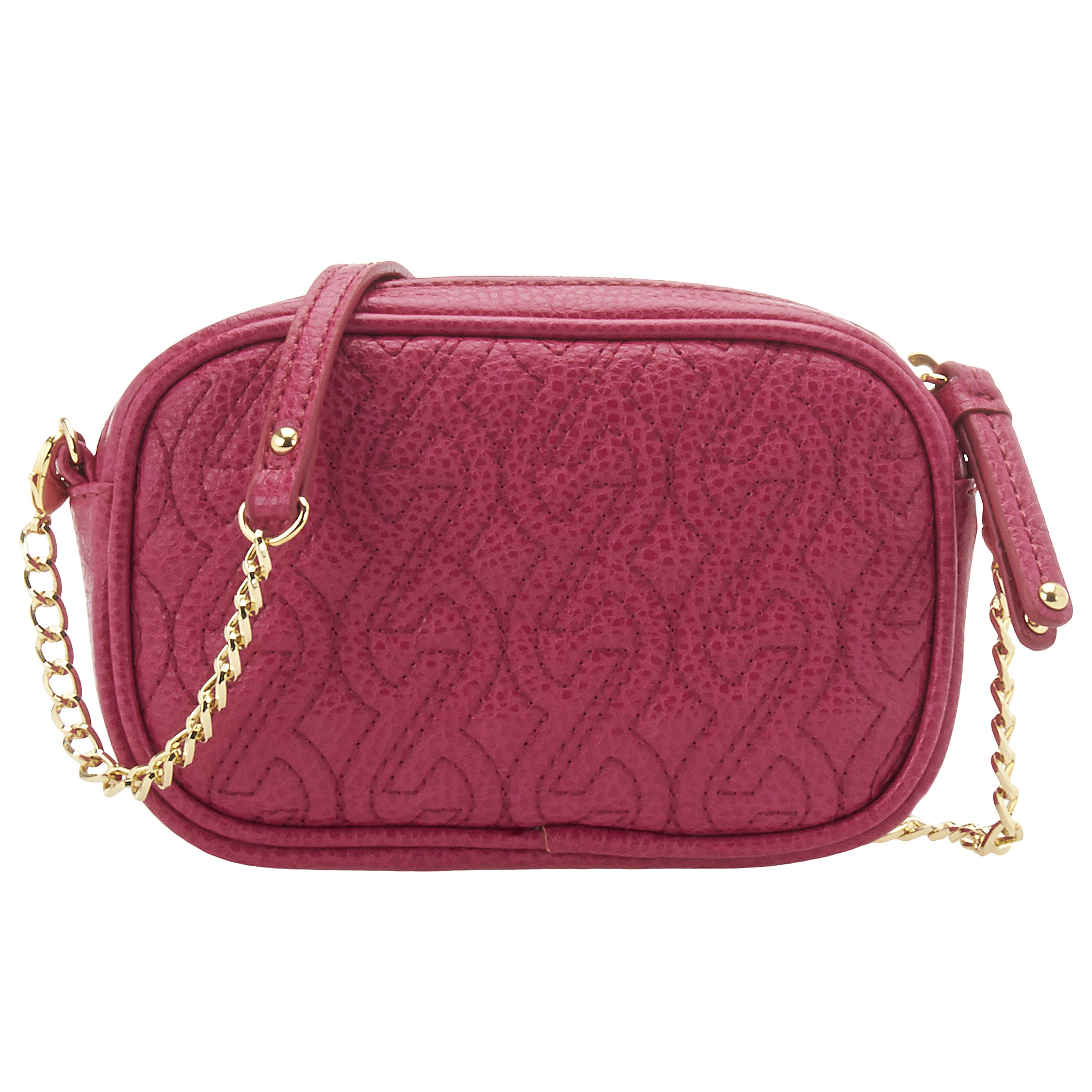 Nine West Quilted Chain Crossbody Bag In Pink Lyst