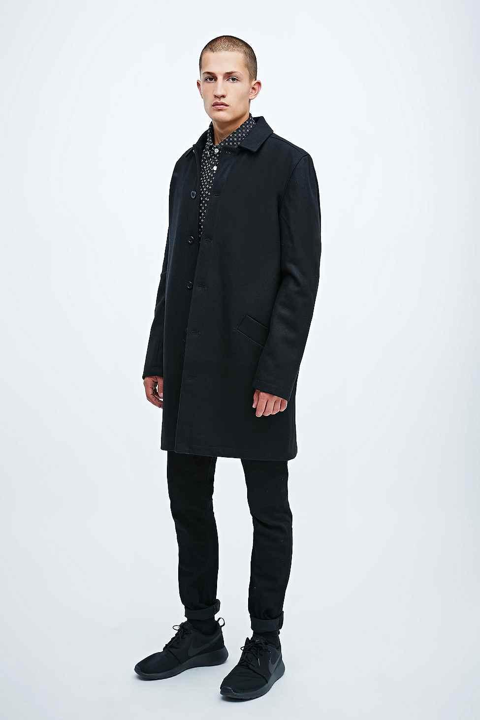 Libertine-libertine Toddler Wool Mac Jacket In Black in Black for ...