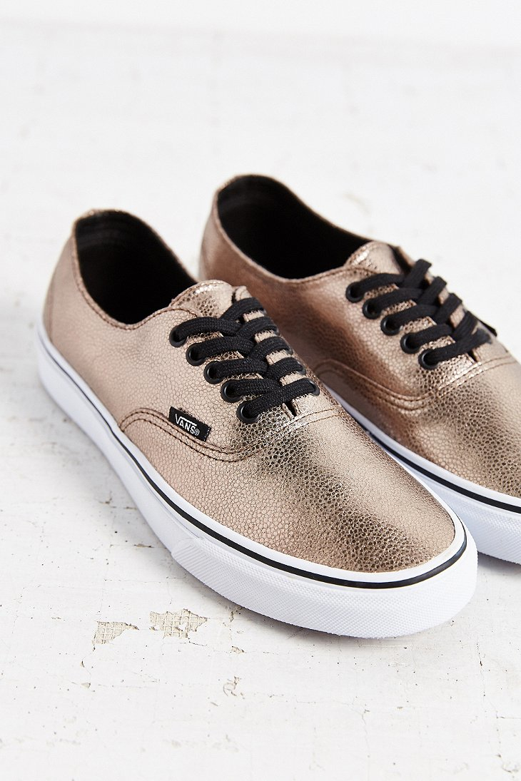 vans authentic metallic