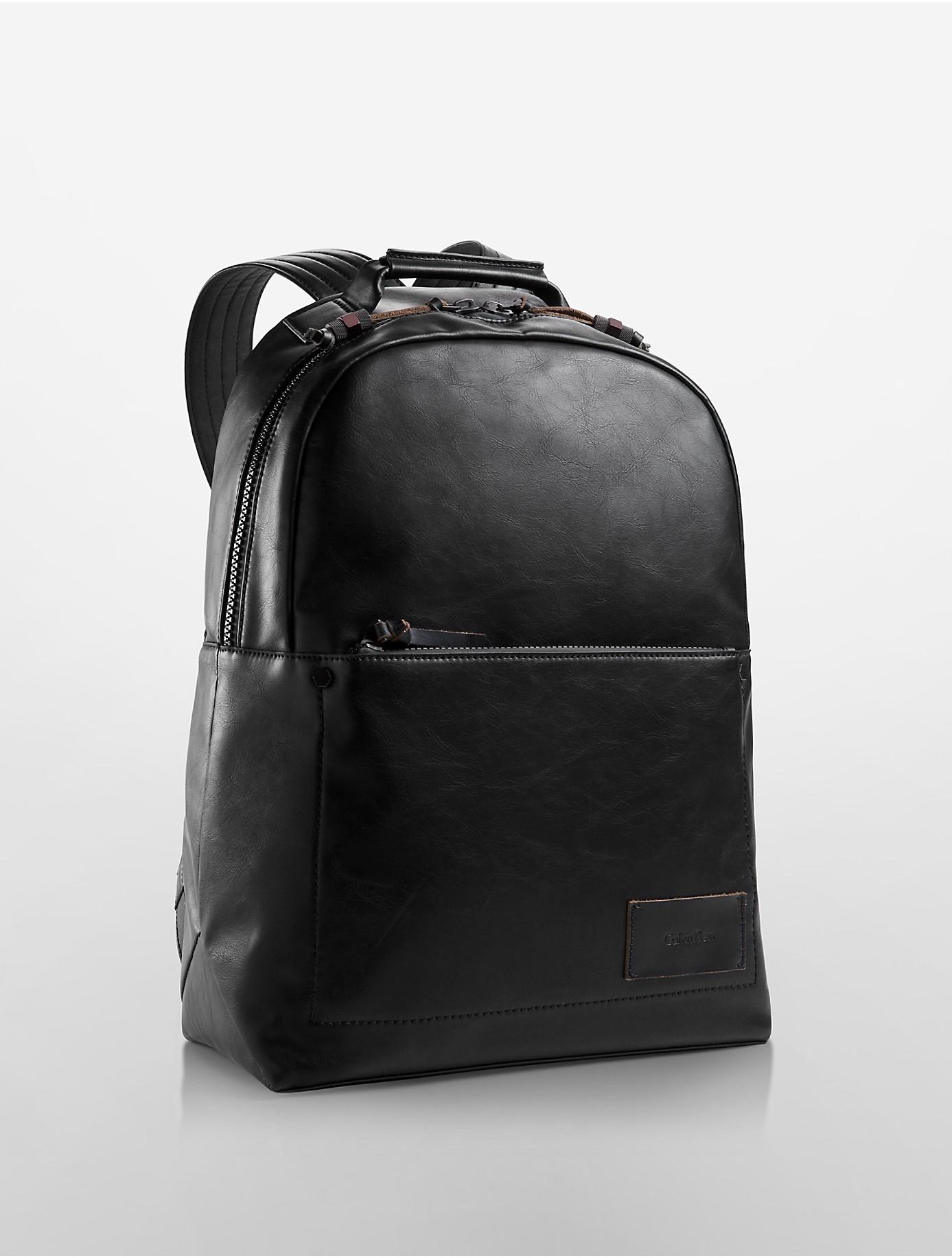 lyst calvin klein jeans minimal backpack in black. Black Bedroom Furniture Sets. Home Design Ideas