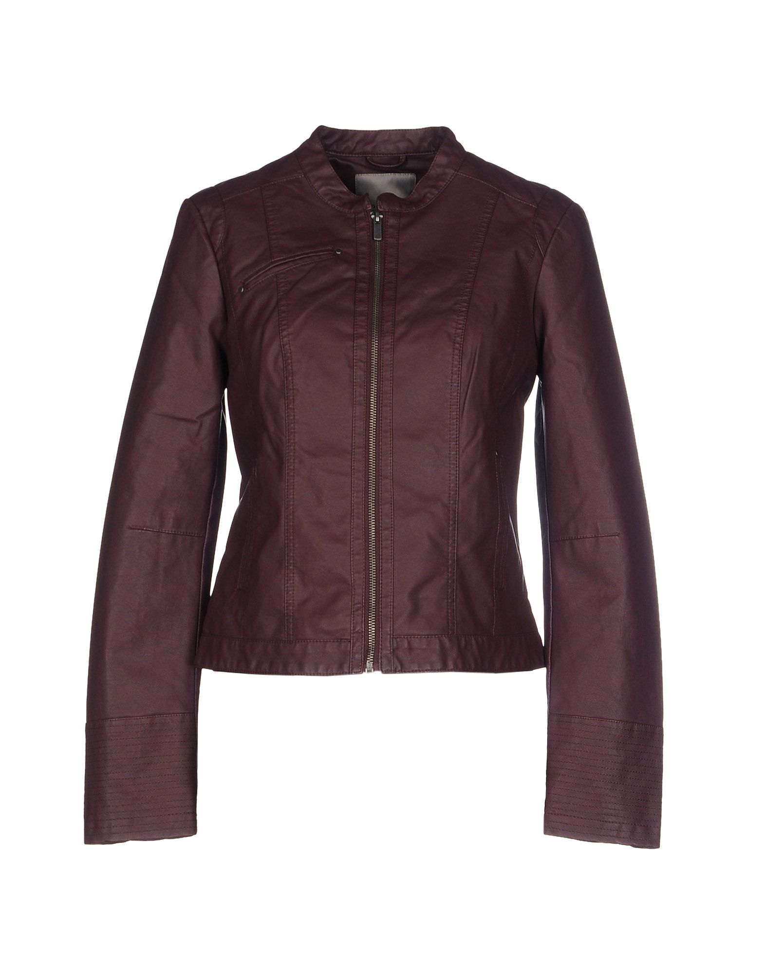 vero moda jacket in purple mauve save 44 lyst. Black Bedroom Furniture Sets. Home Design Ideas