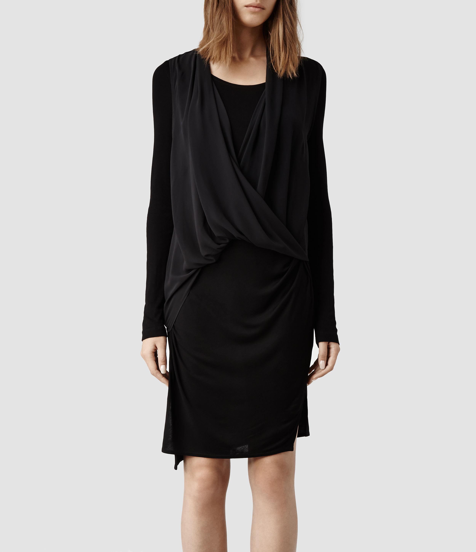 DRESSES - 3/4 length dresses Allsaints yXmXV8RJf5