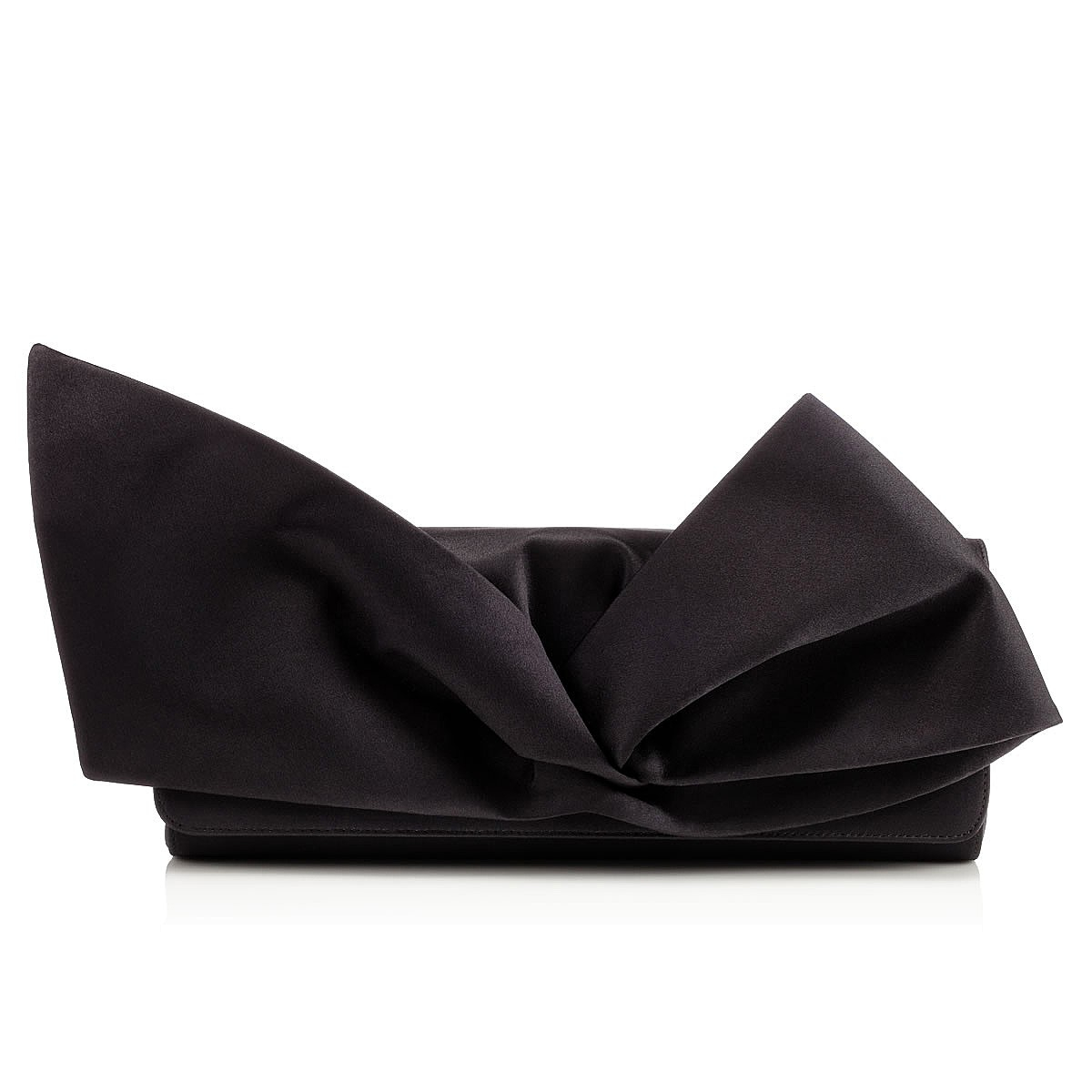 yves saint laurent bags outlet - Christian louboutin Loubibow Clutch in Black | Lyst
