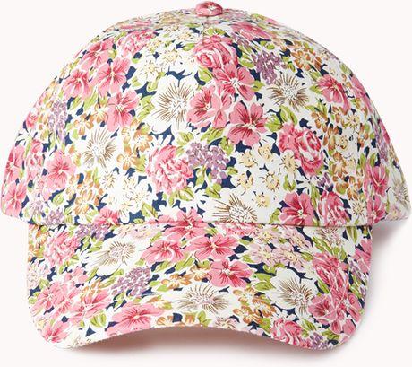 Floral Snapback Forever 21 Forever 21 Fresh Floral