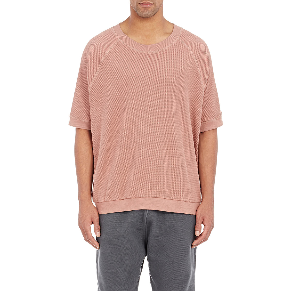 Yeezy Thermal-Knit T-Shirt In Nude Natural For Men - Lyst-1332