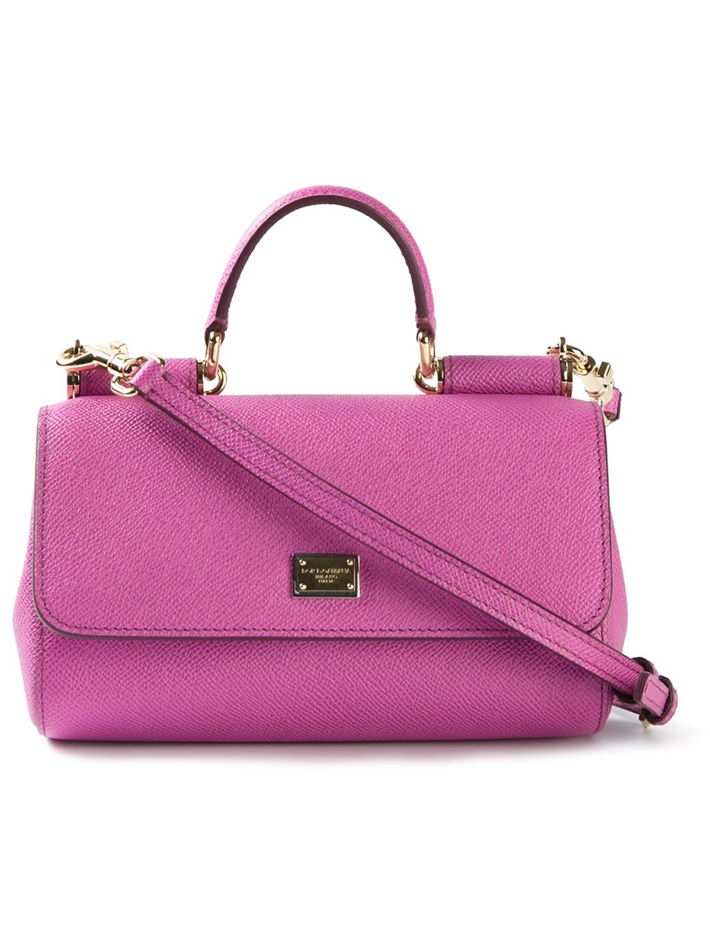 medium Sicily shoulder bag - Pink & Purple Dolce & Gabbana AjExl