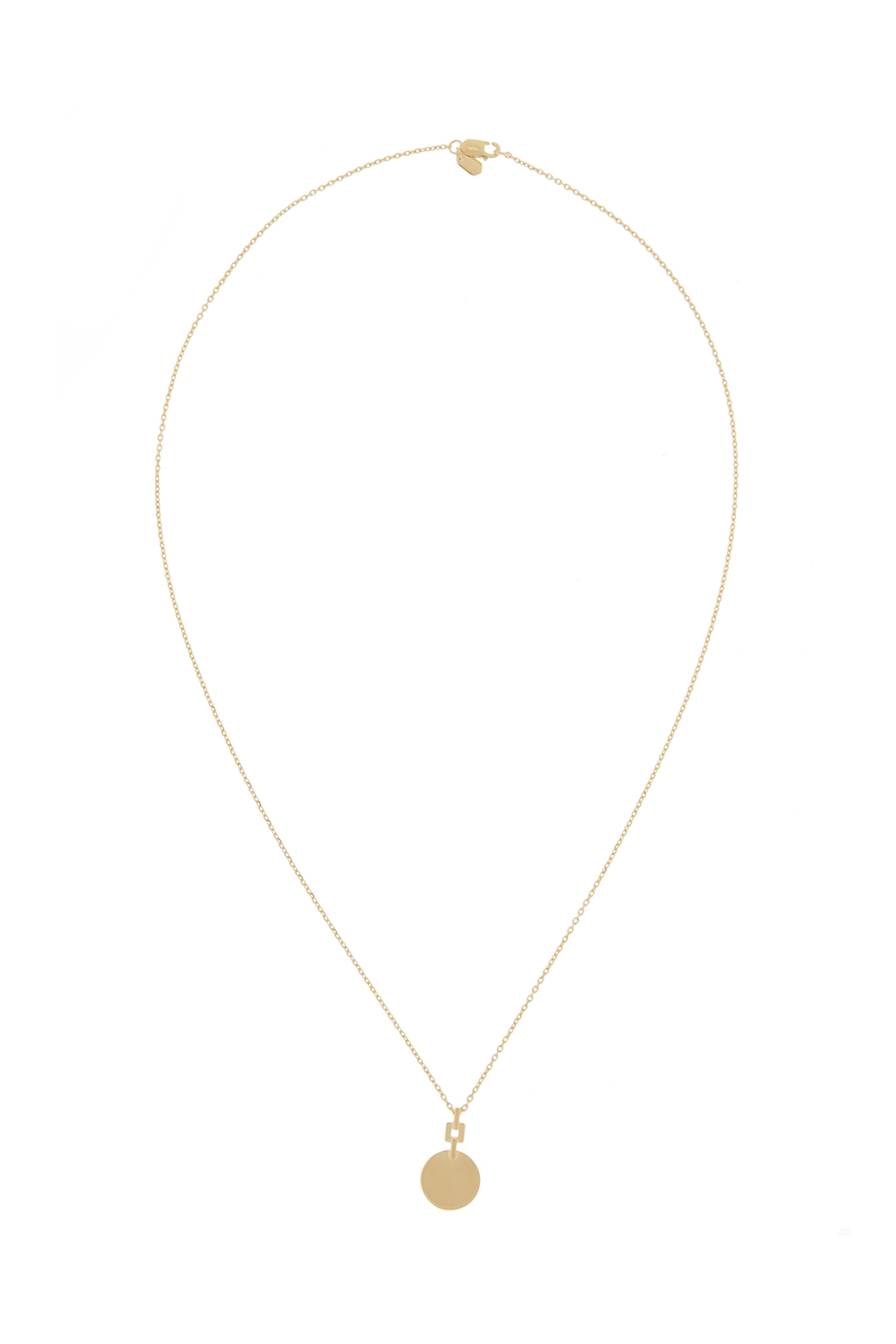 chain in box rose gold necklace