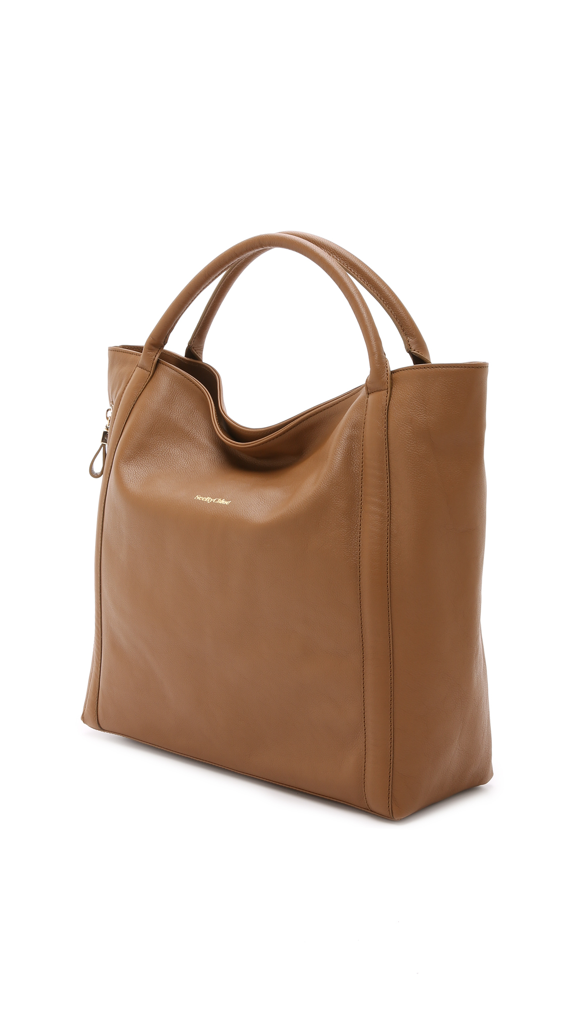 See by chlo¨¦ Harriet Leather Hobo in Brown (Nut) | Lyst