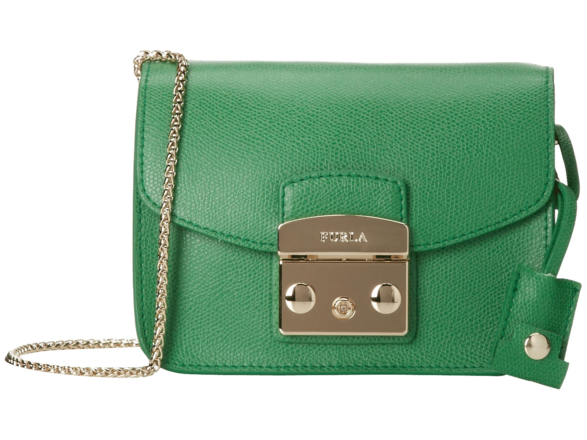 Discounts For Sale Free Shipping Shopping Online mini Metropolis crossbody bag - Green Furla Online Shopping Buy Cheap Get Authentic Countdown Package Cheap Online n60gCXQgte