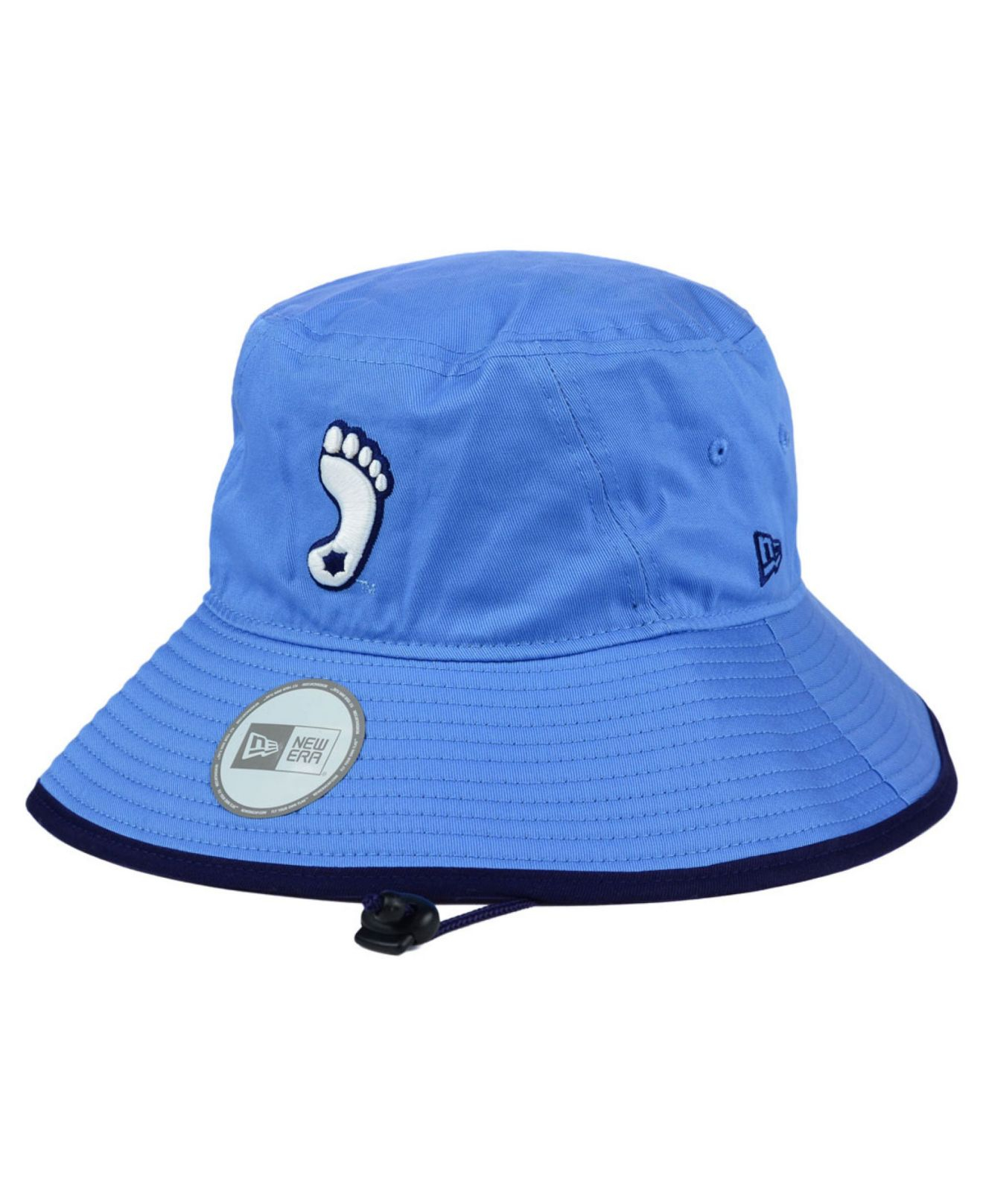 ... low cost lyst ktz north carolina tar heels tip bucket hat in blue for  men b37df ... 502084dab51