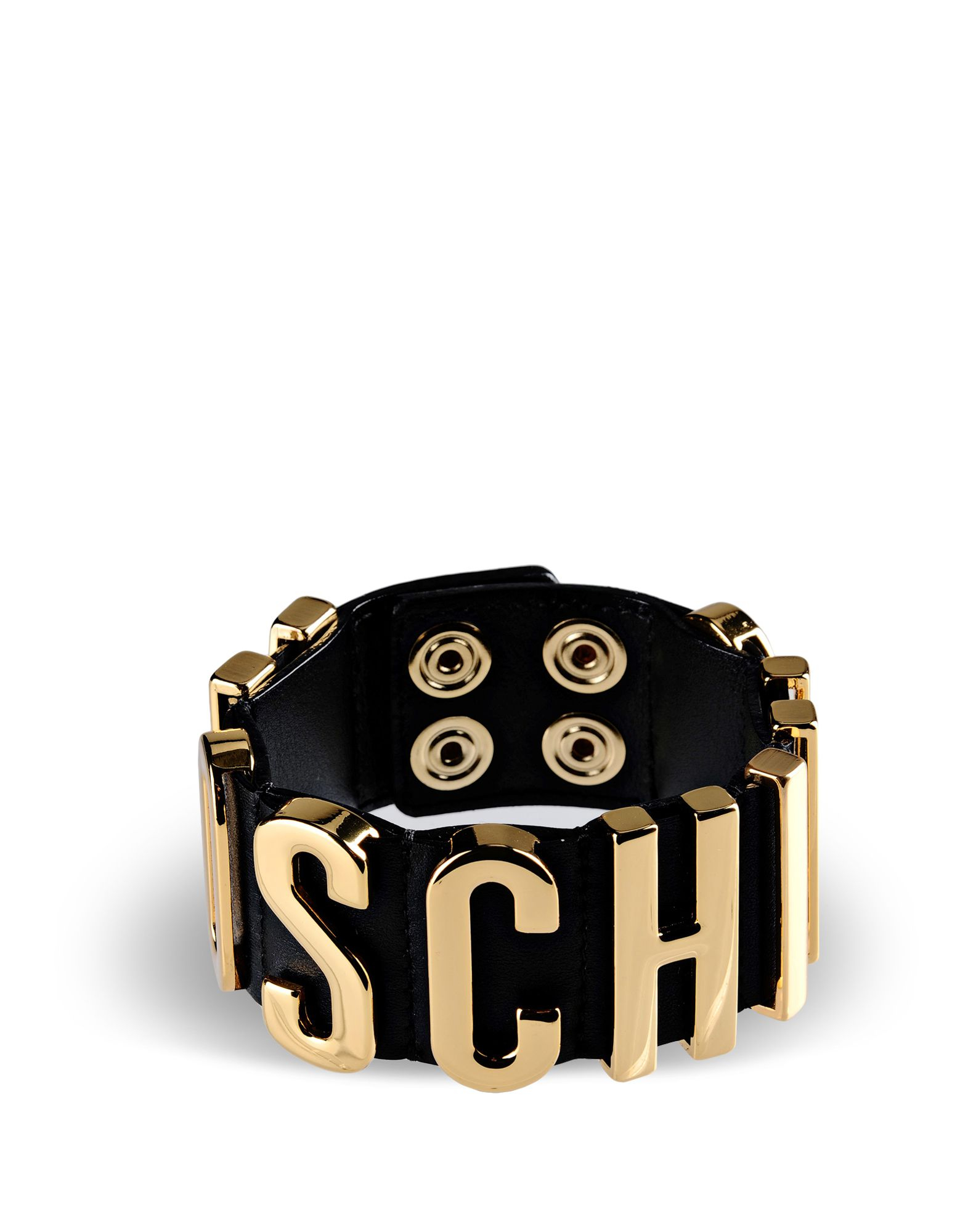 Moschino Bracelet In Black Lyst