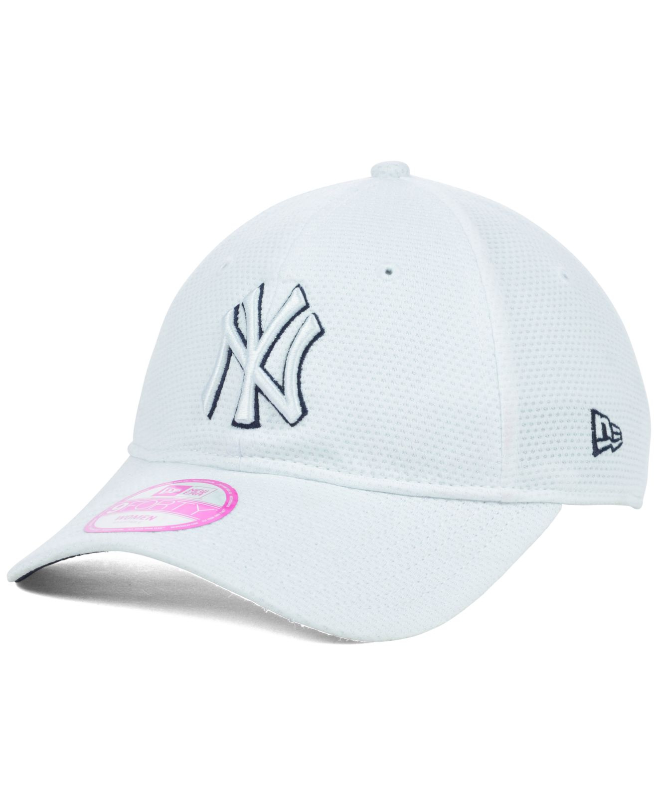 8a98051ed98 Lyst - KTZ Women S New York Yankees Tech Essential 9Forty Cap in White