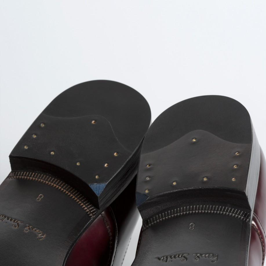 paul smith s bordeaux high shine leather starling