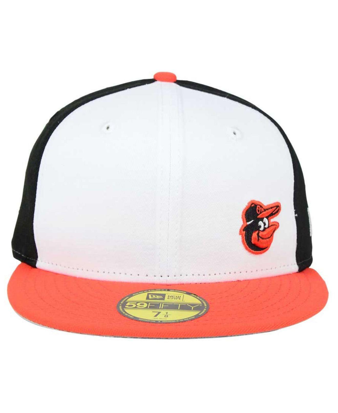 sale retailer d9a78 2f90f Lyst - KTZ Baltimore Orioles Smalls 59fifty Cap in White for Men