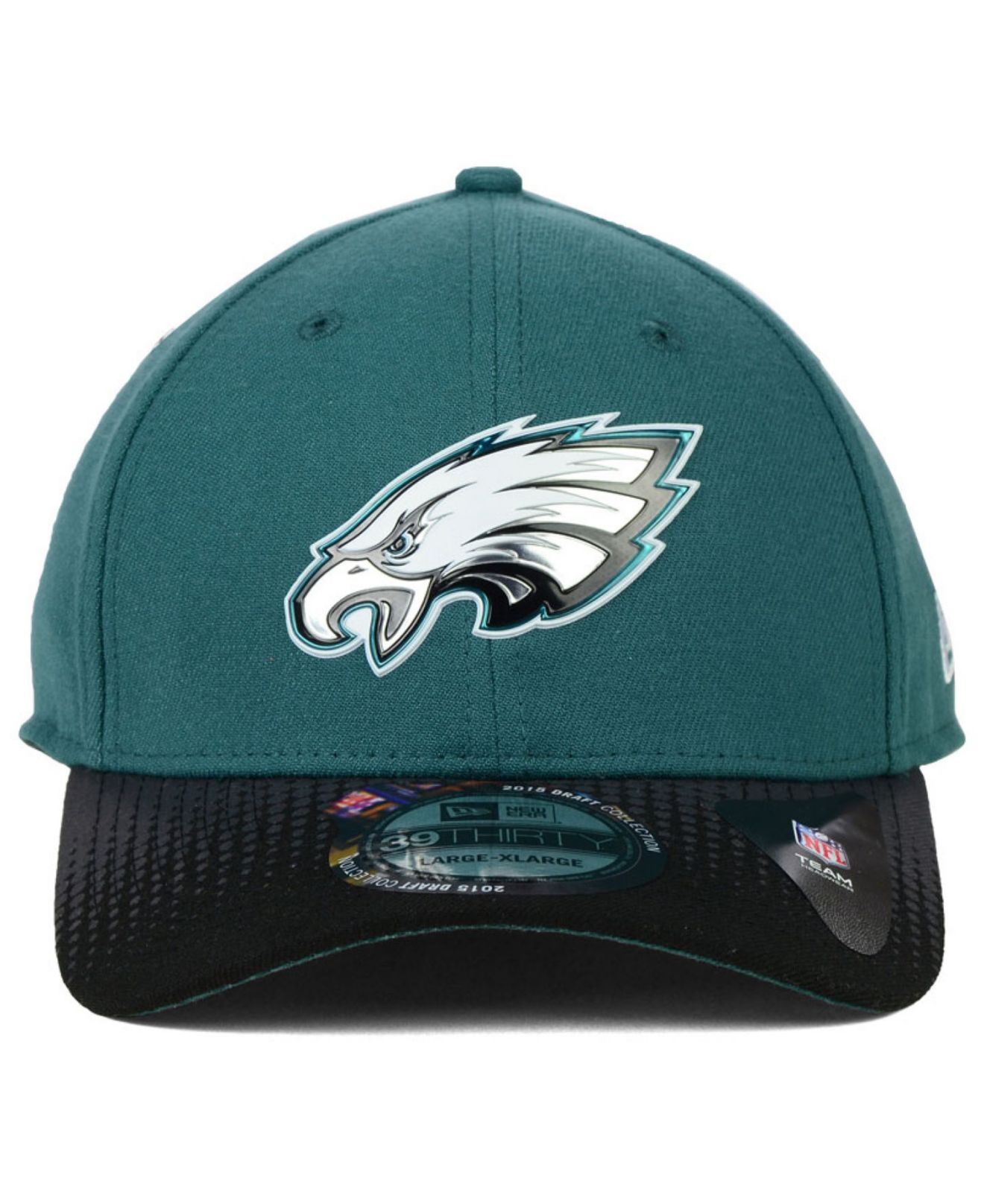 cab7bb7bafd Lyst - Ktz Philadelphia Eagles 2015 Nfl Draft 39Thirty Cap in Blue ...