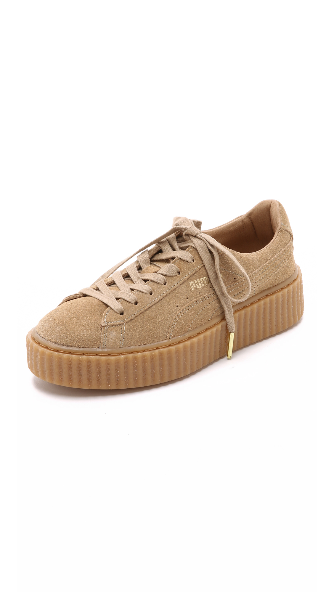 Lyst - PUMA X Rihanna Creeper Sneakers - Brown in Brown 450220939e
