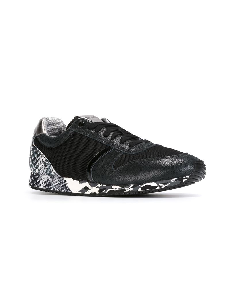 patch sneakers - Black Just Cavalli mUo9801