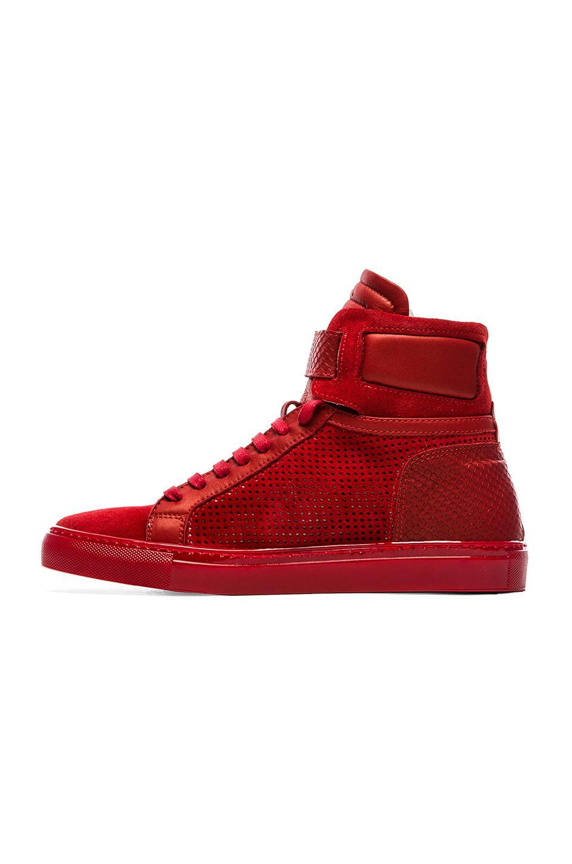 Lyst - Ylati Amalfi Hi-Top Sneakers in Red for Men bd581be22