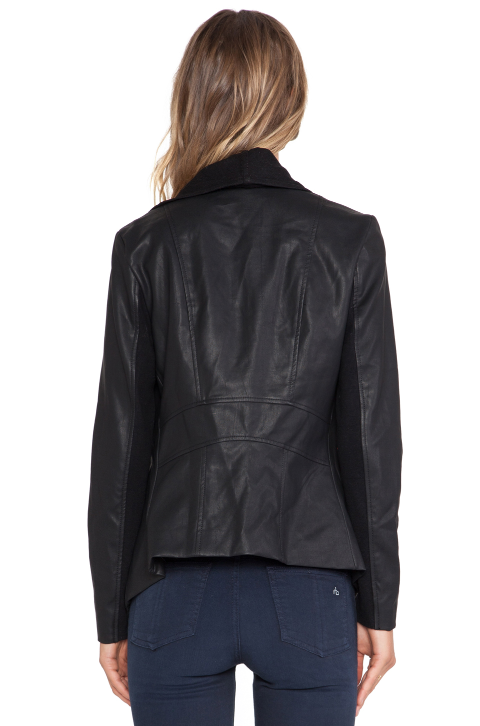 Bardot leather jacket