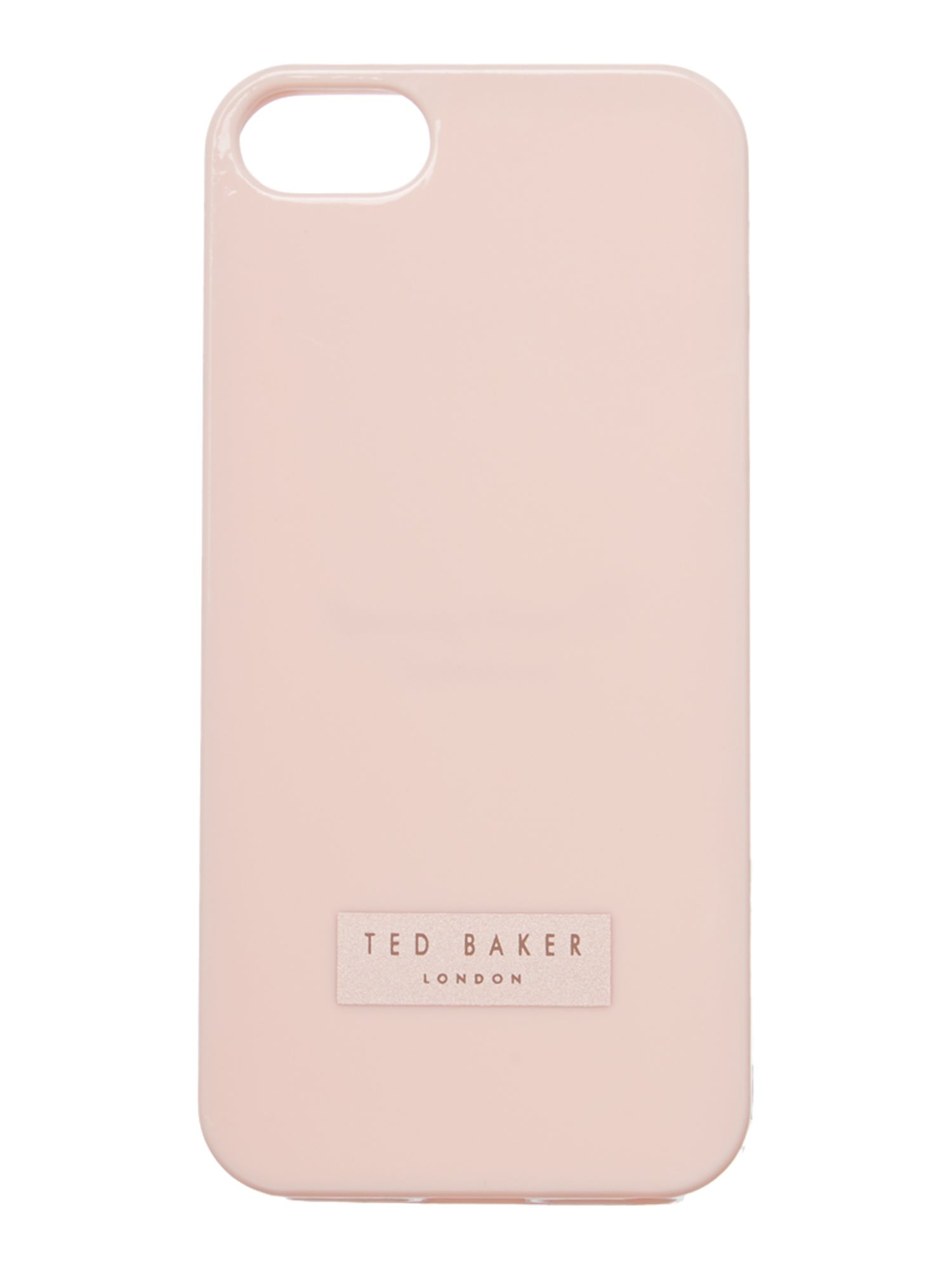 Ted Baker Jelly Nude Iphone 5 Case In Pink  Lyst-5055