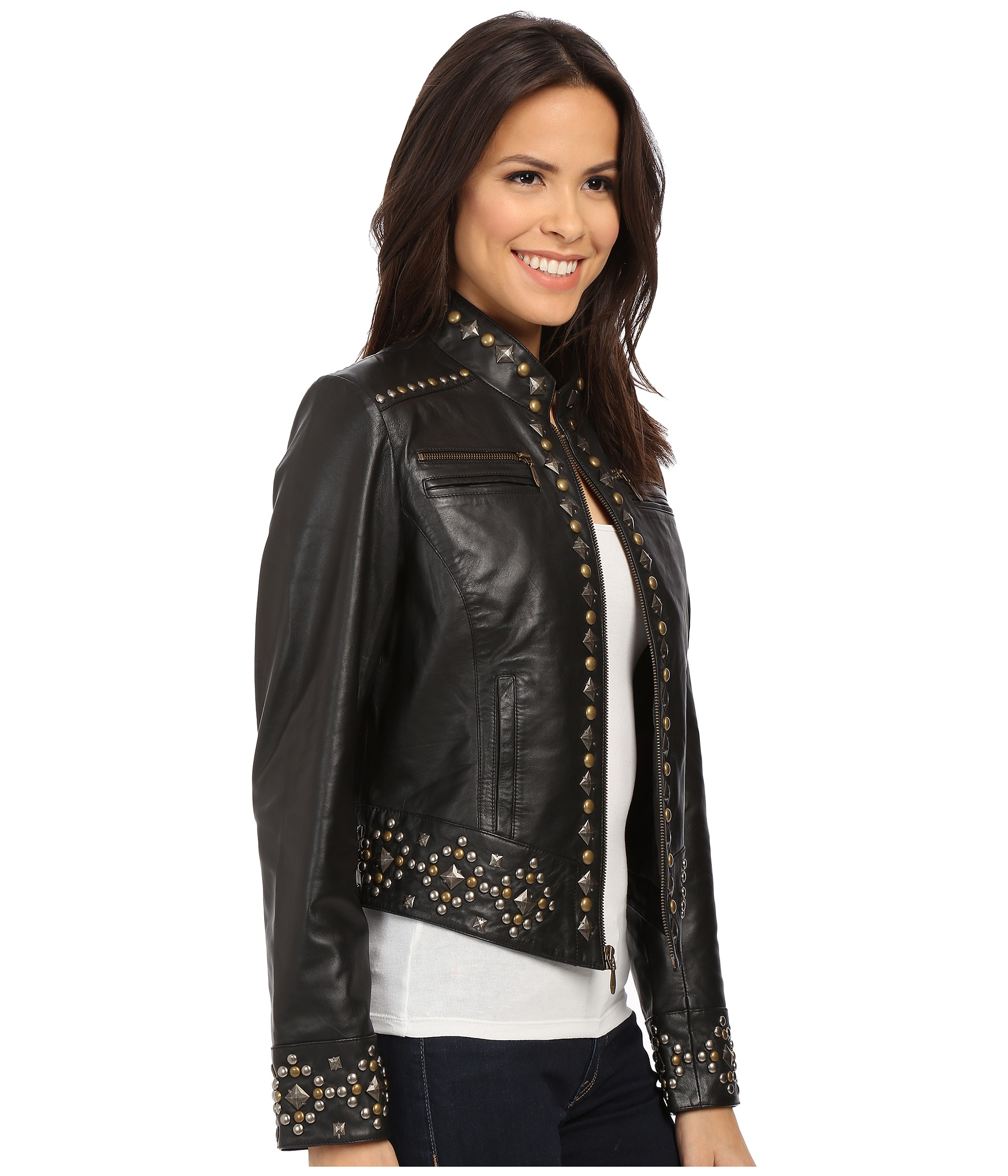 Lyst Double D Ranchwear Old Indian Face Jacket In Black