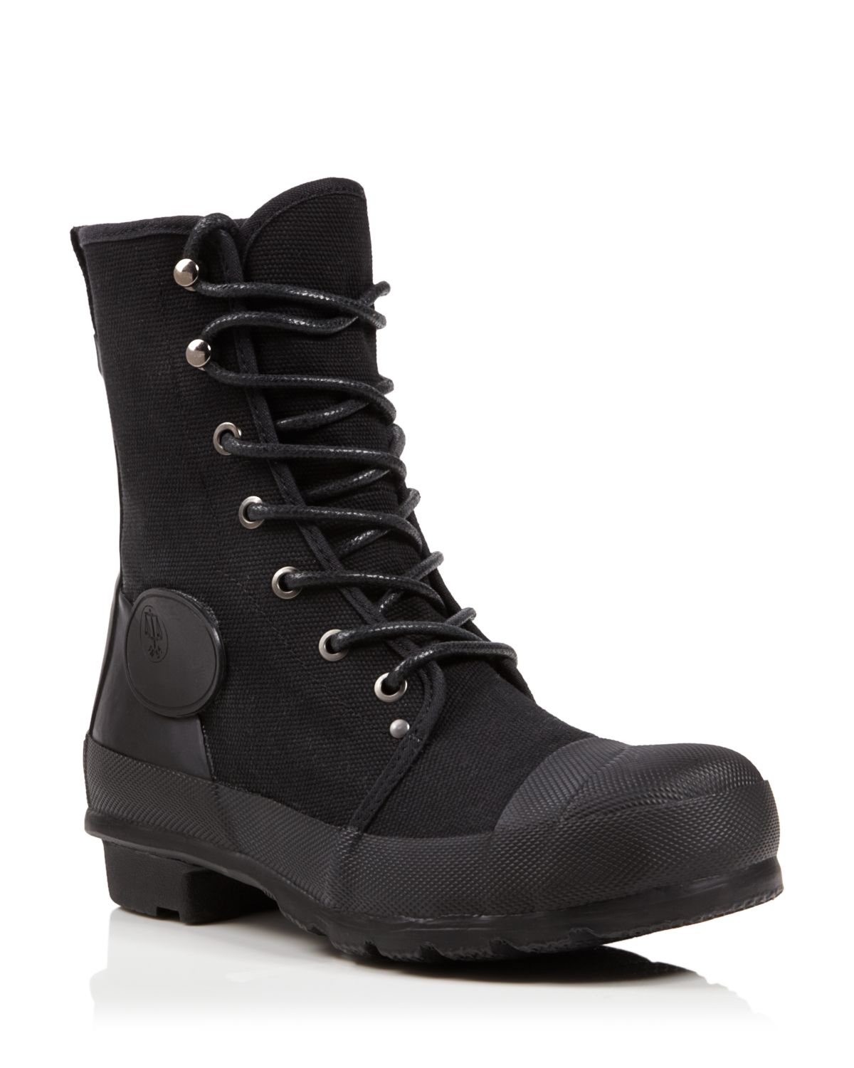 flat lace up combat boots original canvas