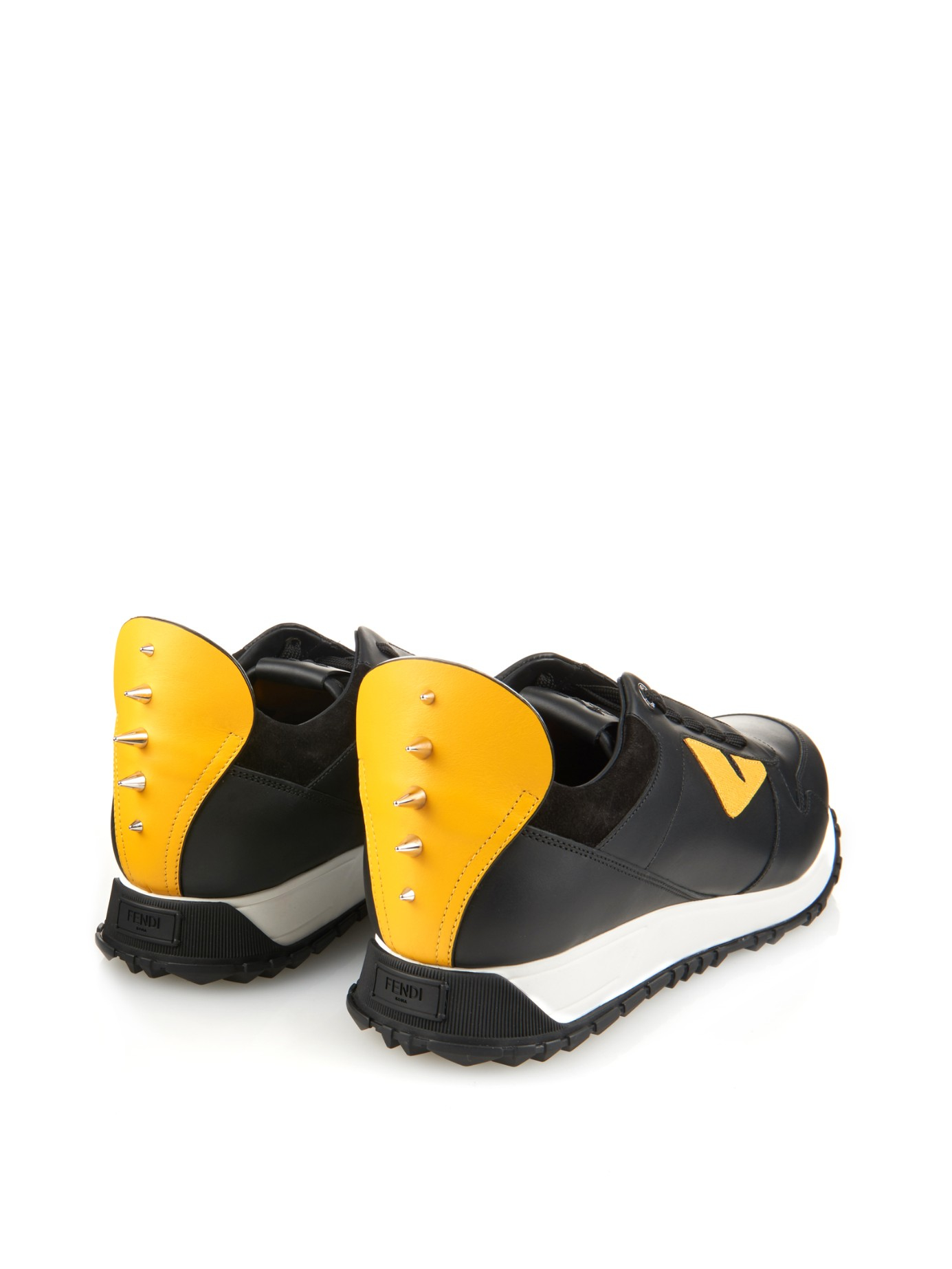 Bugs Sac Fendi Chaussures De Sport - Noir qitdA8HGF