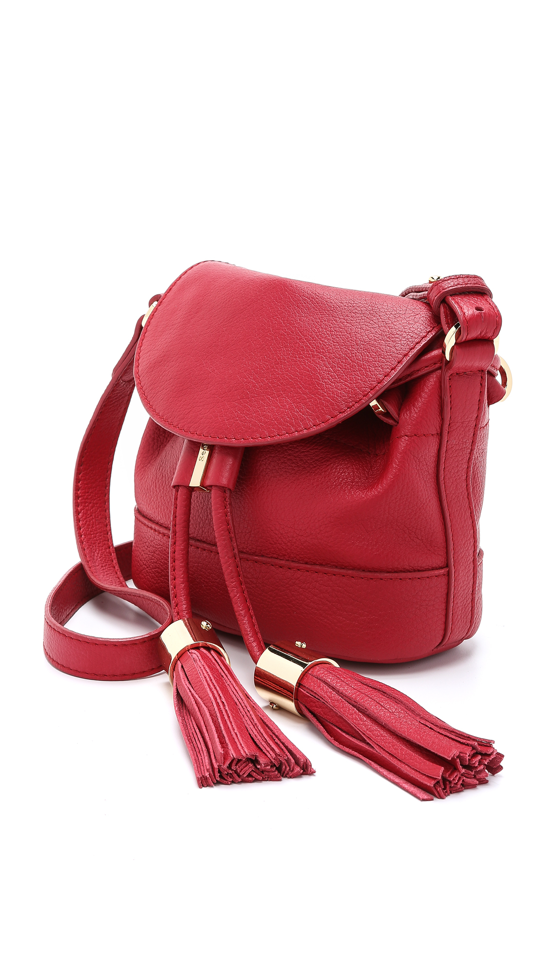 Lyst - See By Chlo Vicki Mini Cross Body Bag - Nude In Red-2663