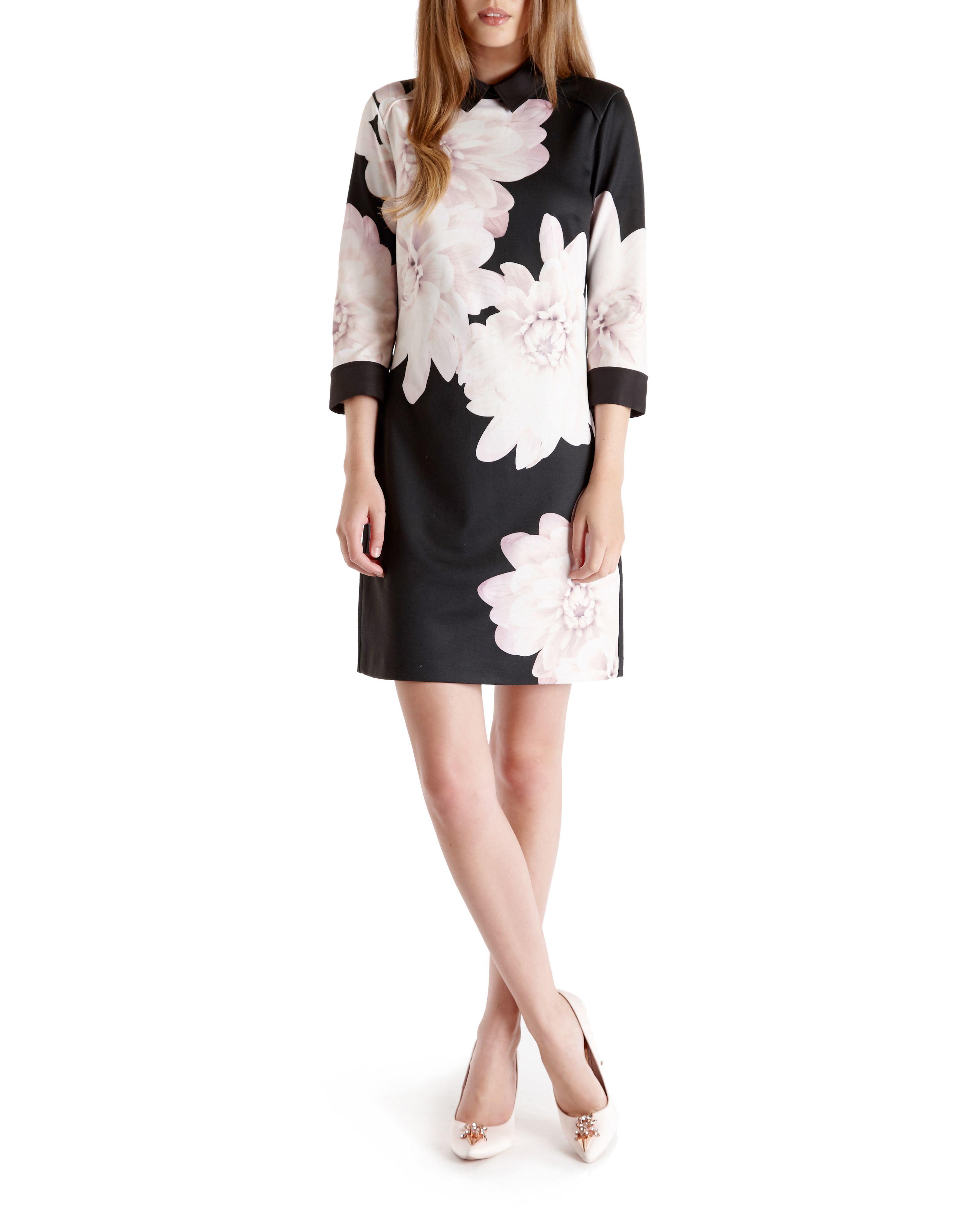 Best Store To Get Online For Sale Buy Authentic Online Printed Shift Dress Ted Baker skbOCxvRfg