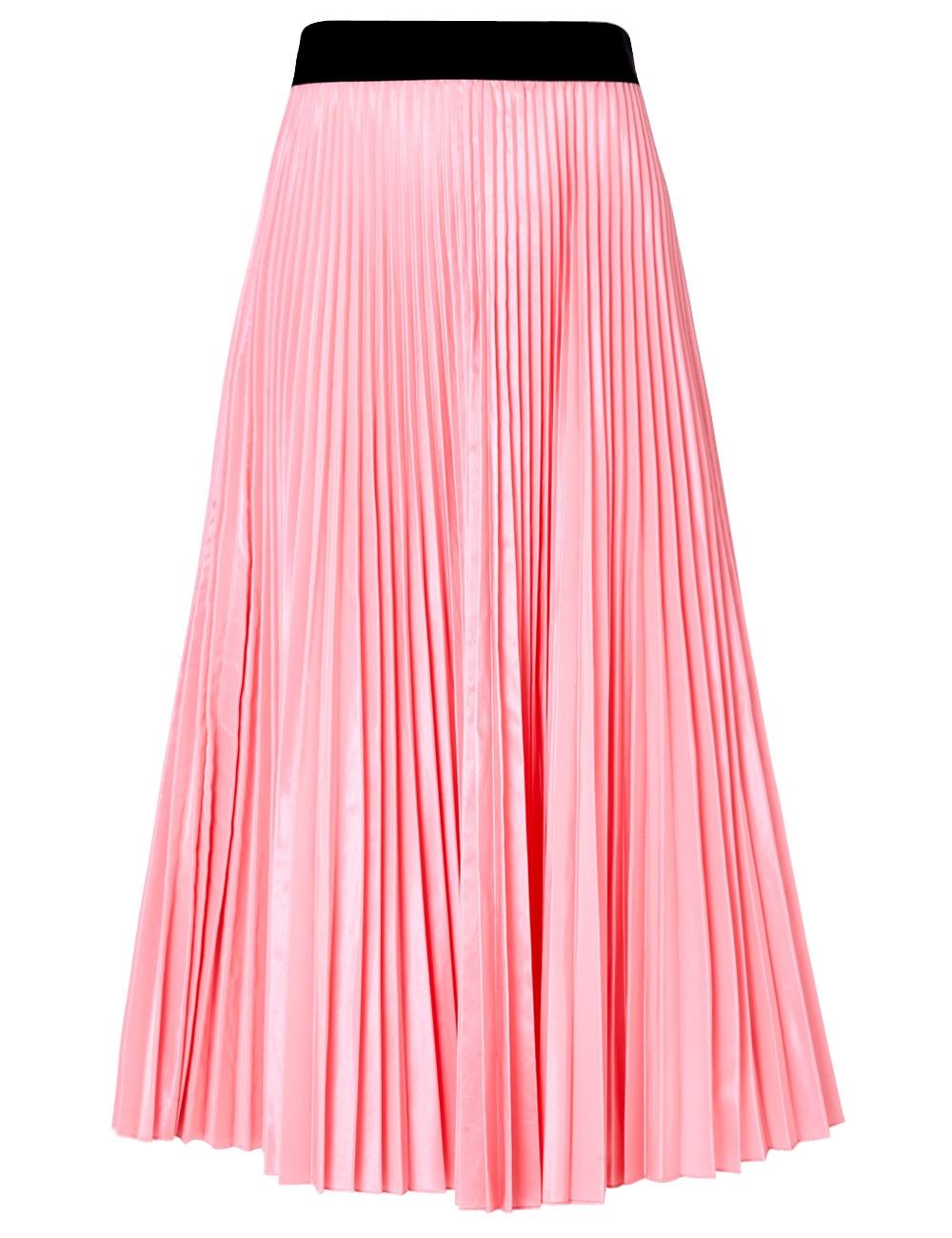 accordion pleated skirt redskirtz
