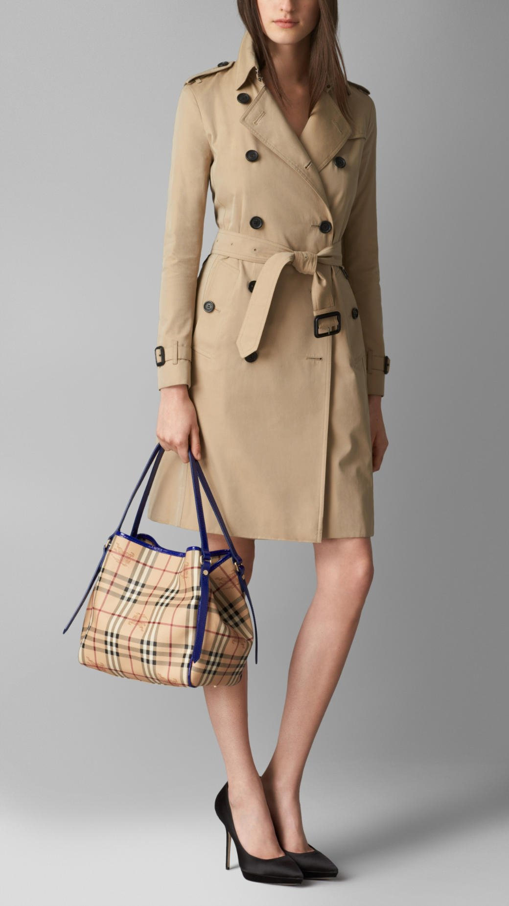 butberry outlet imm4  burberry small haymarket check tote bag