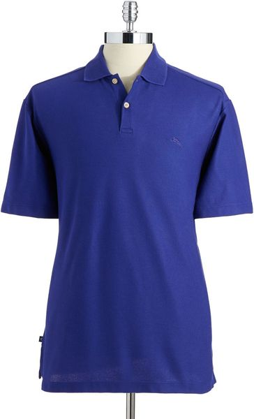 Tommy bahama marlin rossi polo shirt in blue for men for Tommy bahama polo shirts on sale