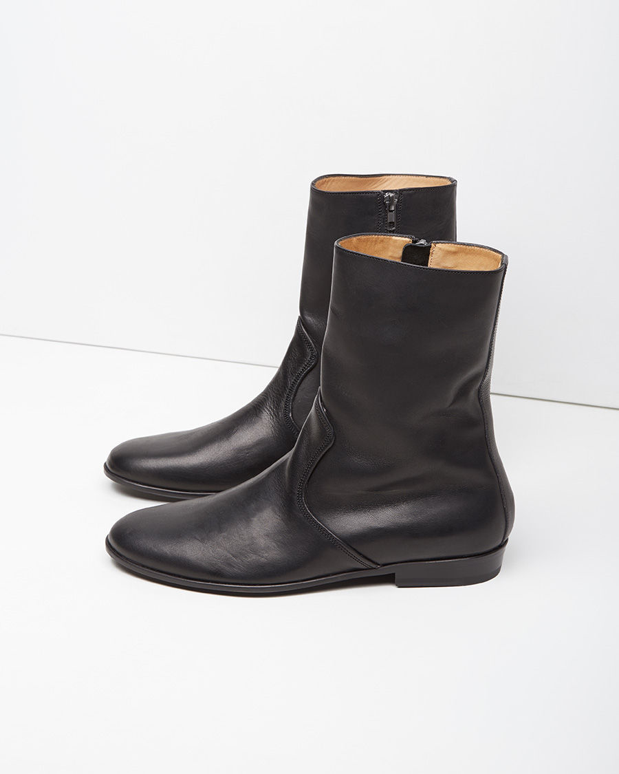 LEMAIRE Leather Boots XIZ5n6ywB