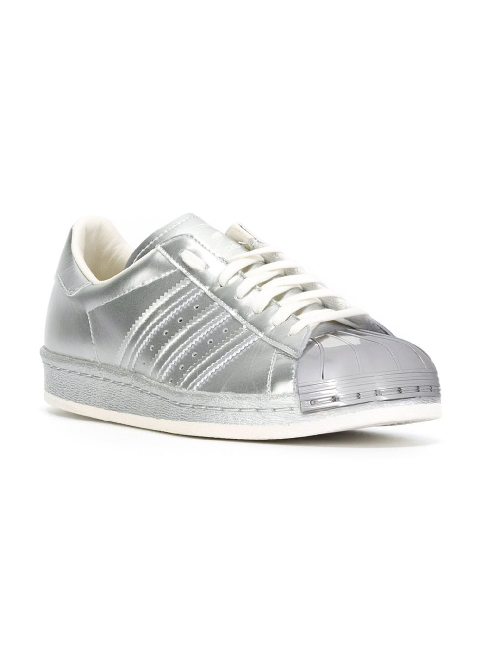 Adidas Originals Superstar - Sneaker Low - Silver Metallic/White