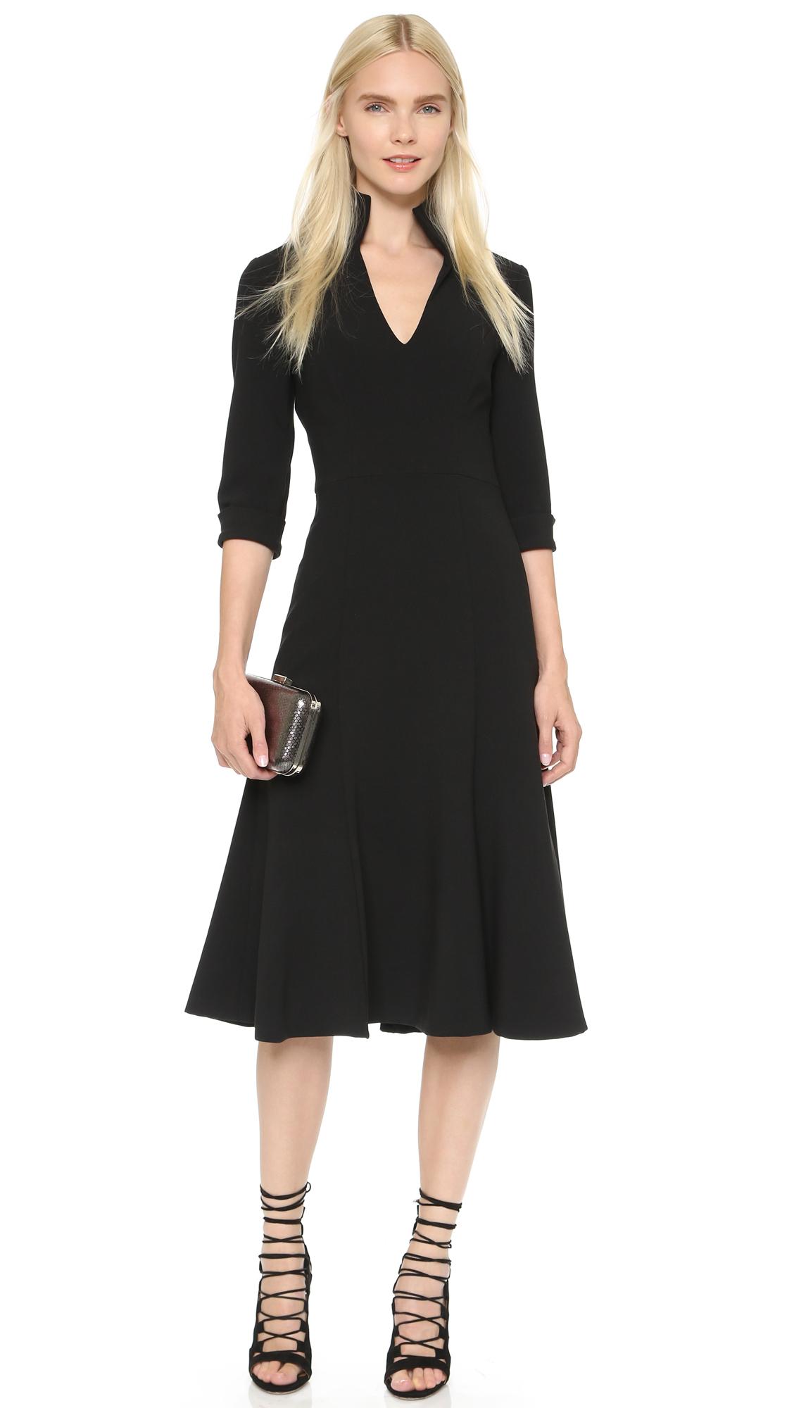 Black Halo Kensington Dress In Black Lyst