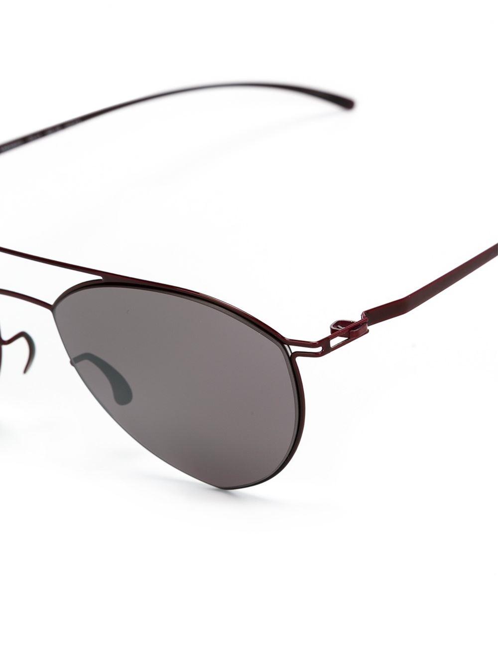 Mykita maison martin margiela x mmesse010 sunglasses in for Martin margiela glasses