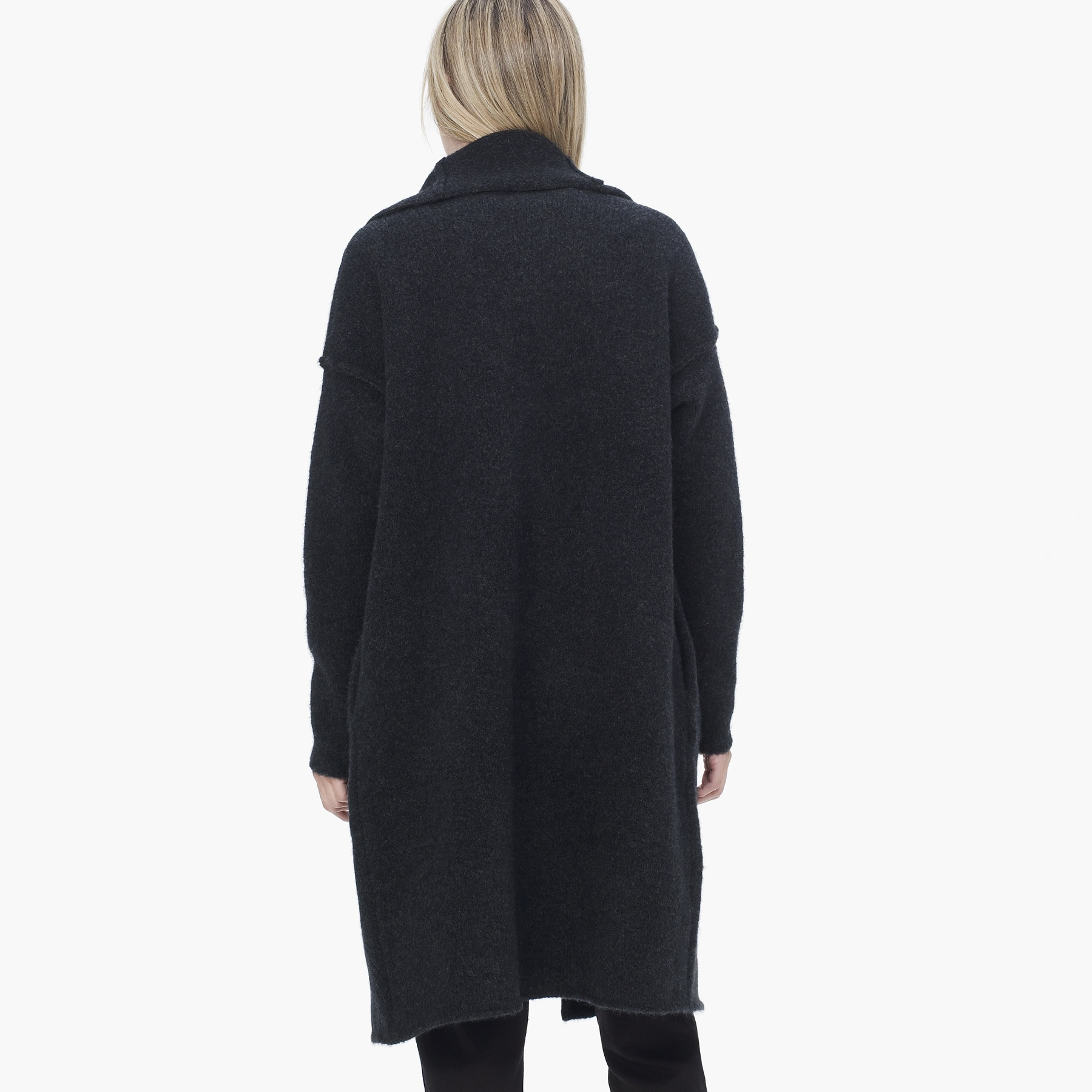 James perse Blanket Sweater Coat in Gray | Lyst