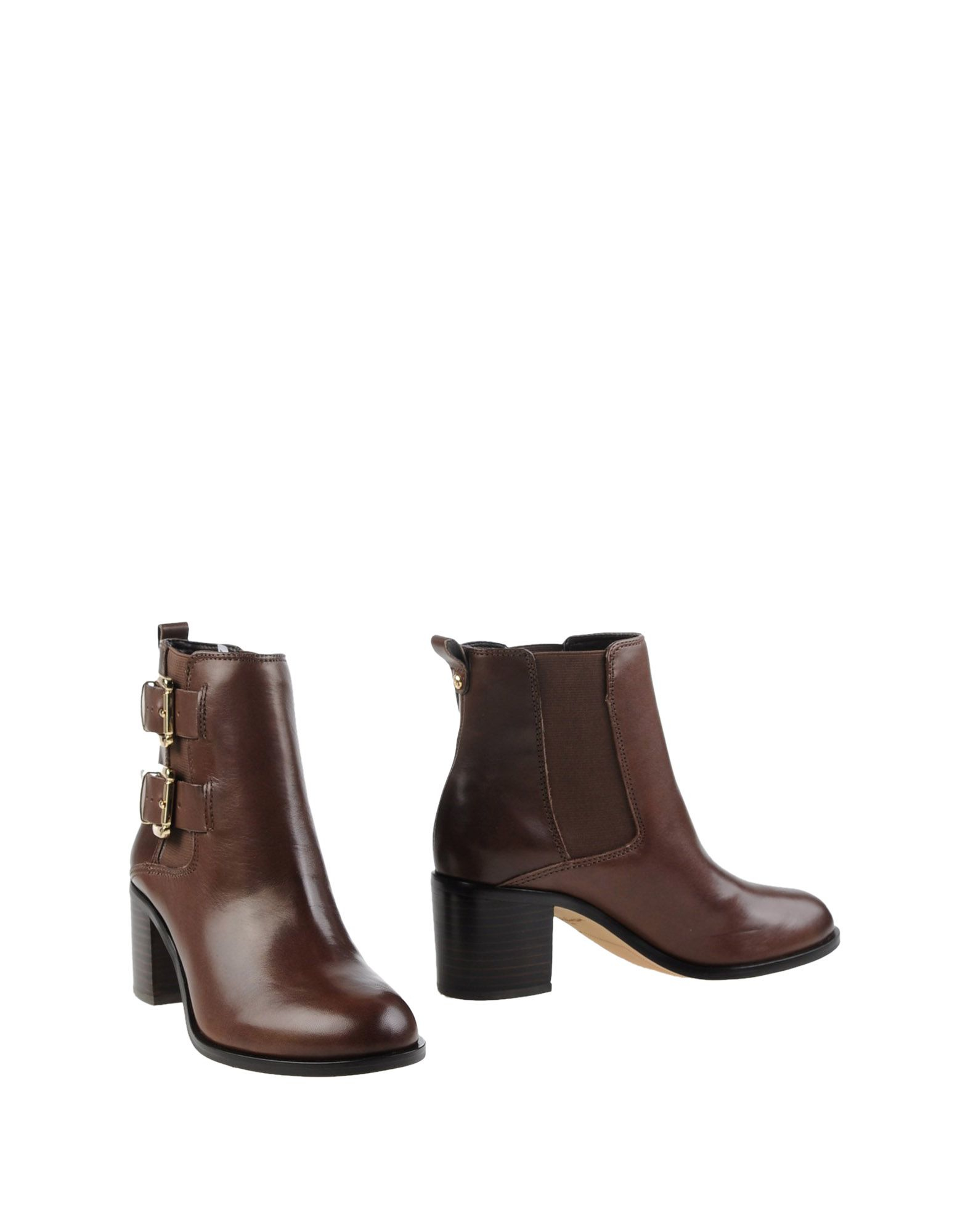 sam edelman ankle boots in brown cocoa