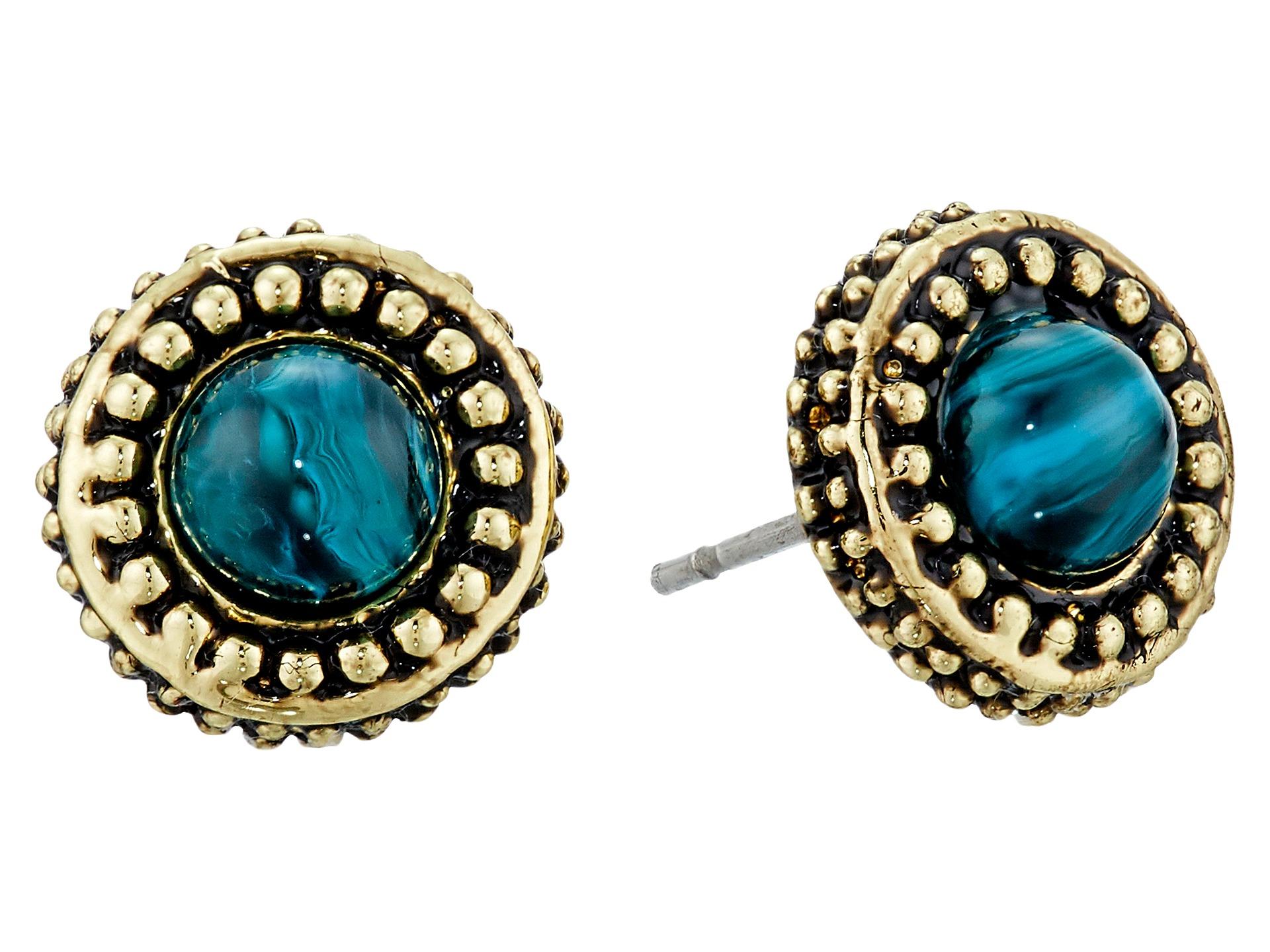 house of harlow 1960 cuzco stud earrings in blue lyst