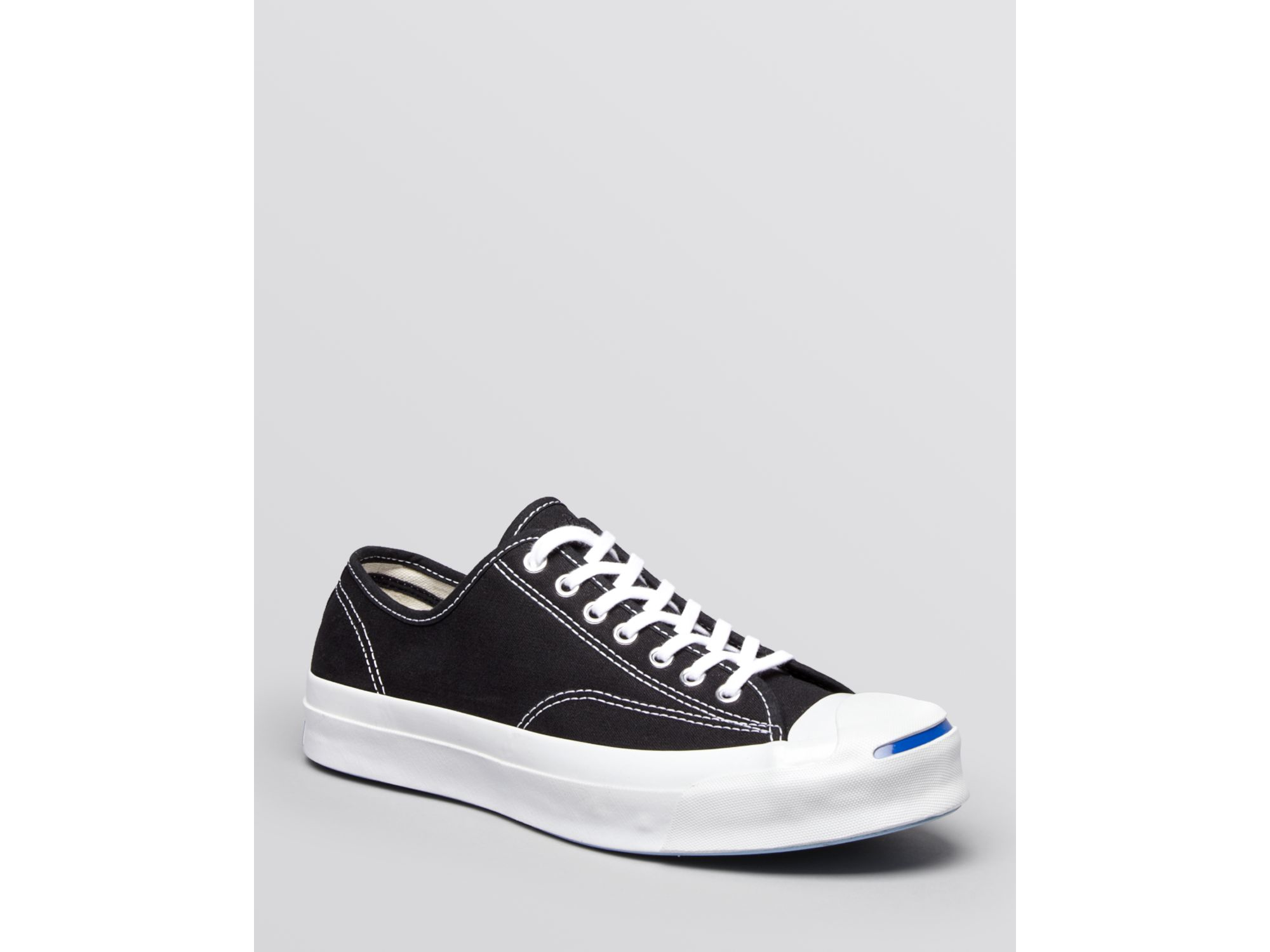 Converse Jack Purcell Signature Canvas Sneakers in Black for Men - Lyst 6a67b06fc
