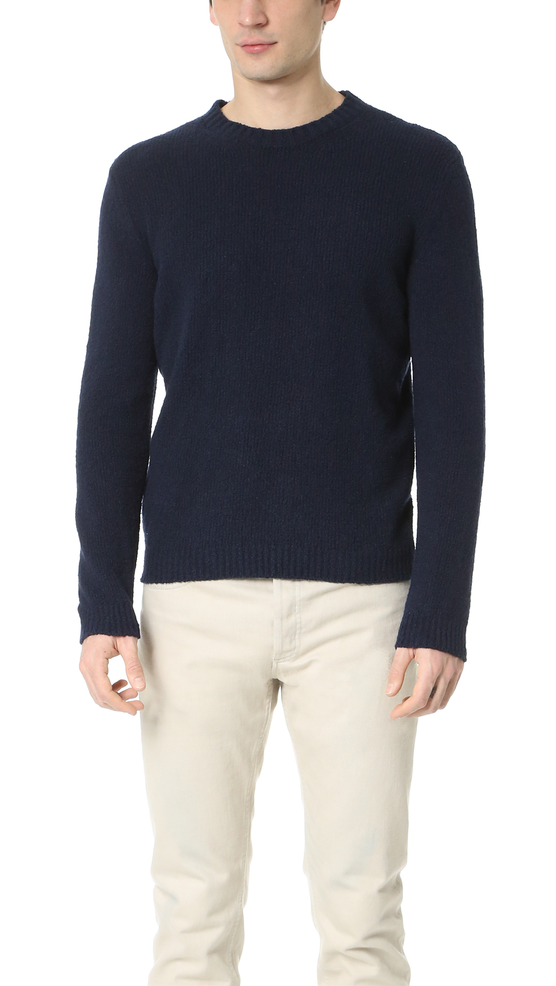 A.p.c. Reed Sweater in Blue for Men | Lyst