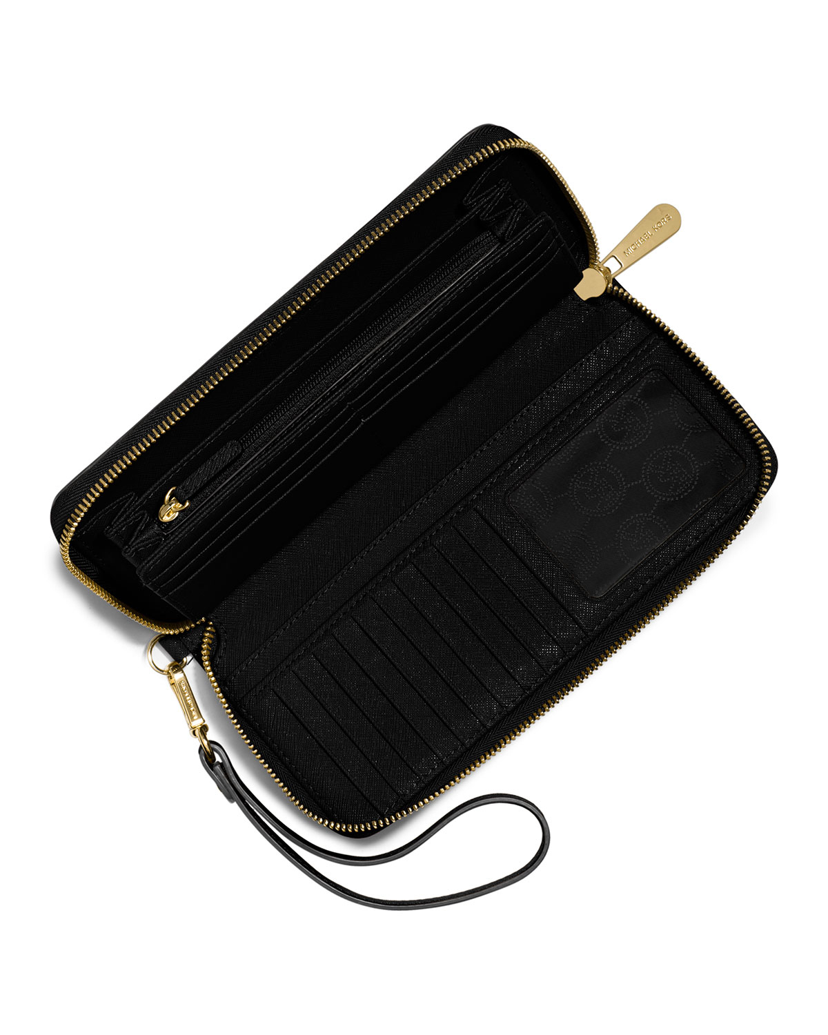 Featured. MICHAEL Michael Kors | Black Jet Set Travel Continental Wallet ...