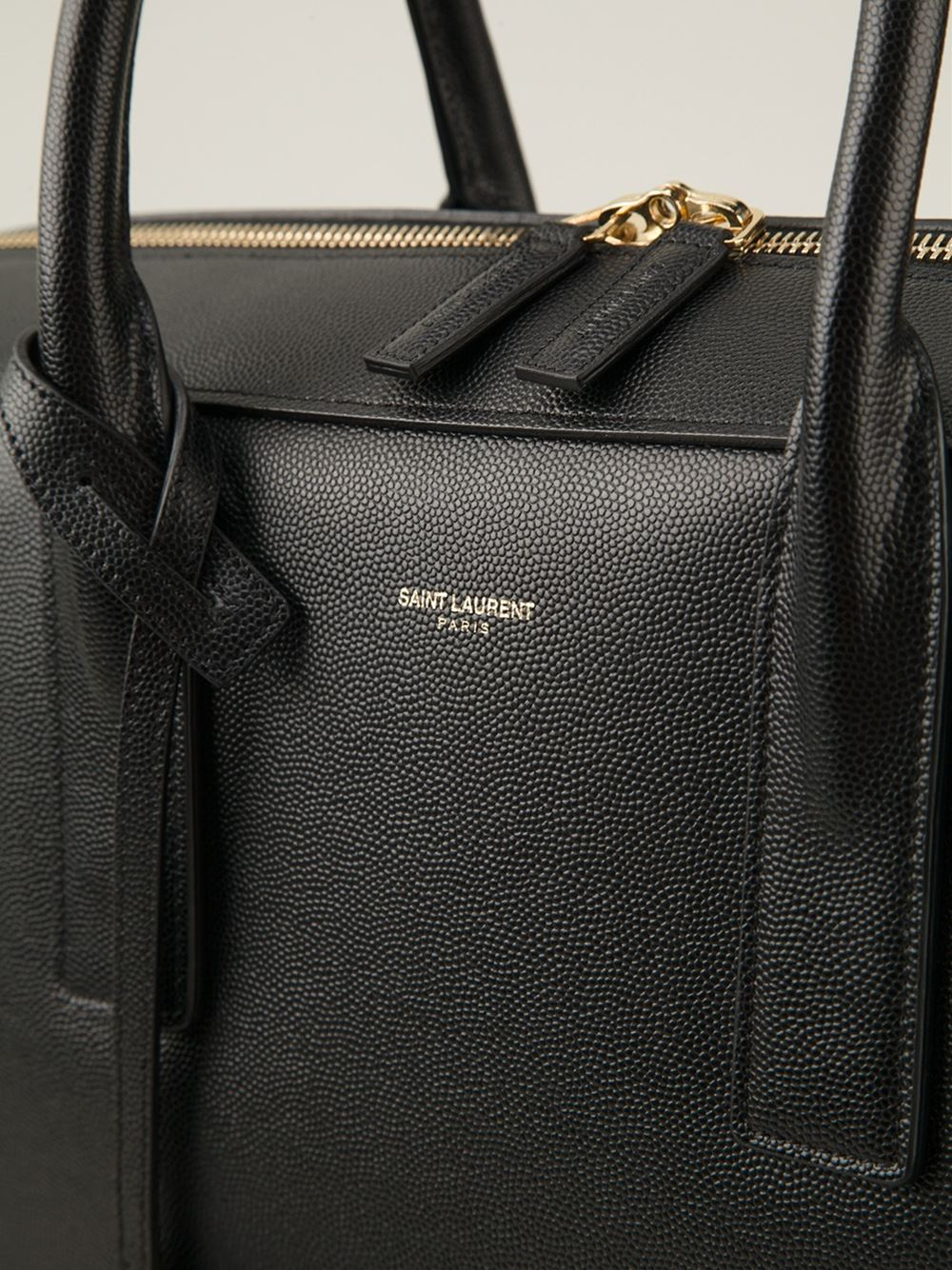 Saint laurent Museum Briefcase in Black for Men | Lyst