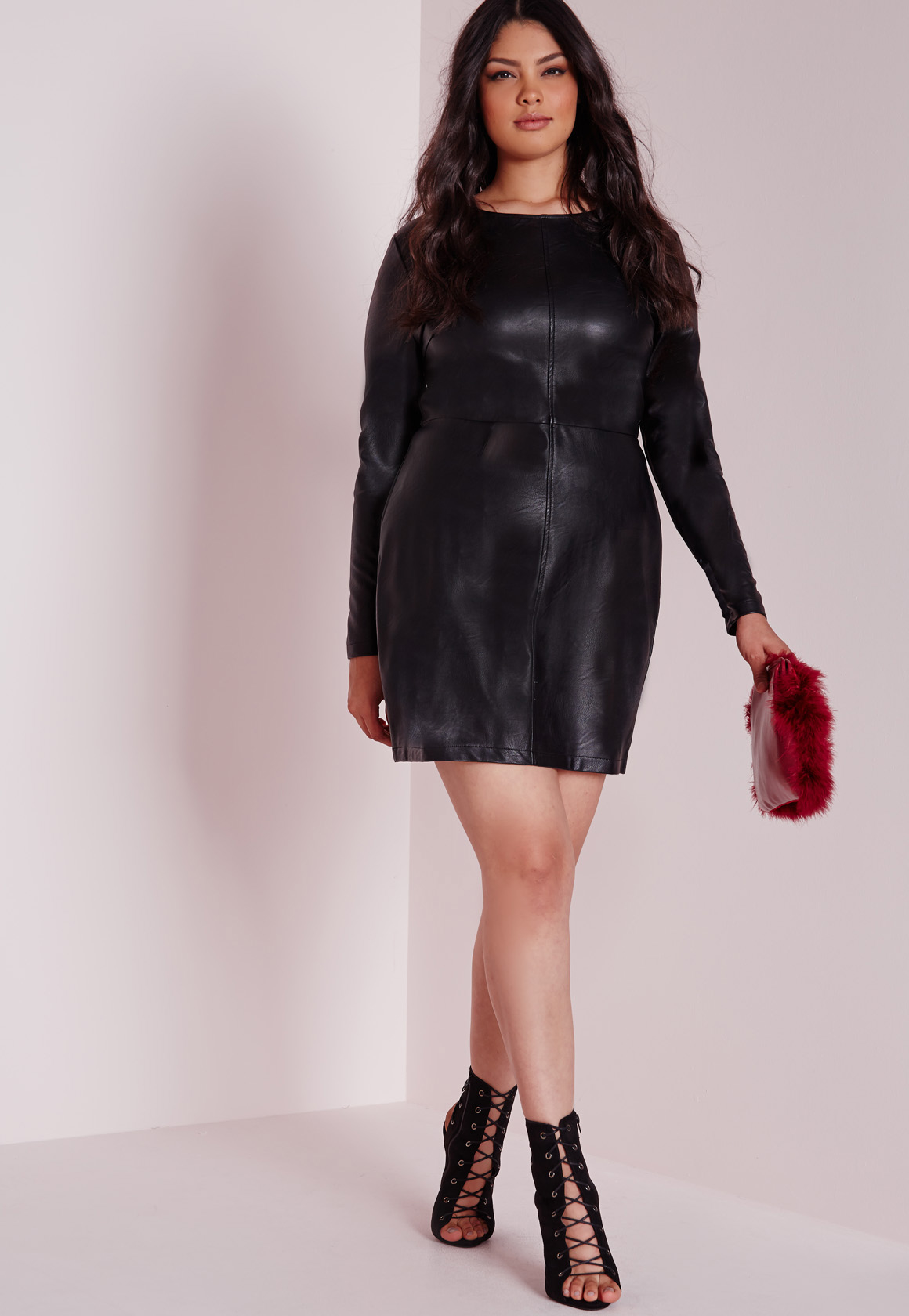 a59c31640ccae Plus Size Dress Leather – Fashion dresses