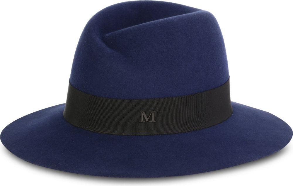 Virgine hat - Blue Maison Michel 03Q5Z