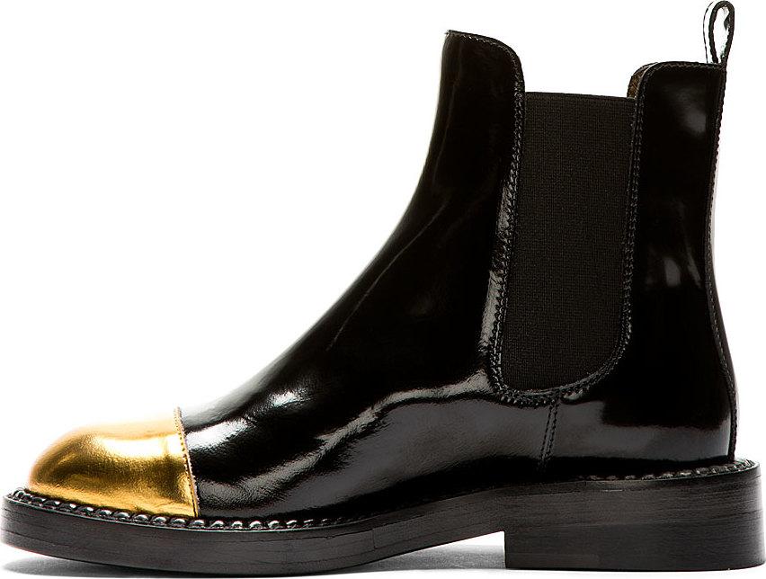 Black Chelsea Boots Marni AzSYa