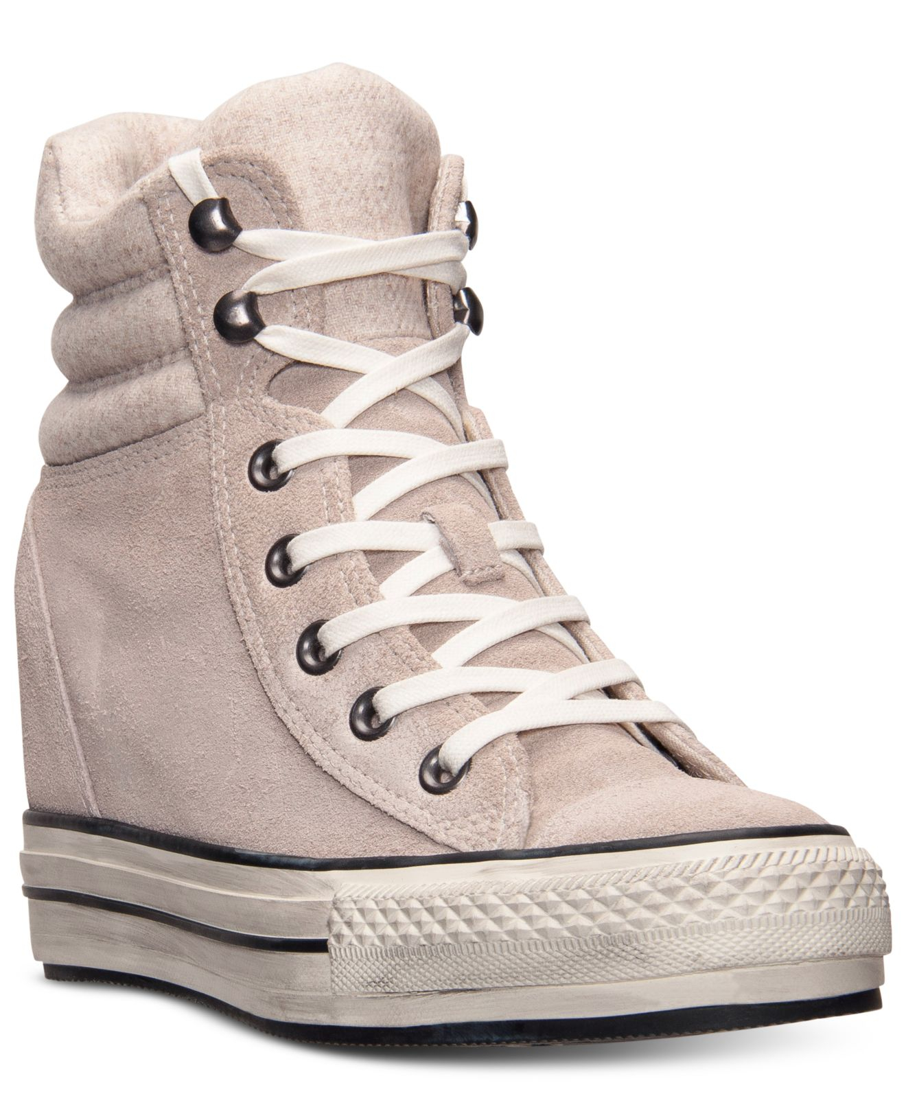 482f2c18e79 Gallery. Previously sold at  Macy s · Women s Converse Platform Women s  Check Sneakers ...
