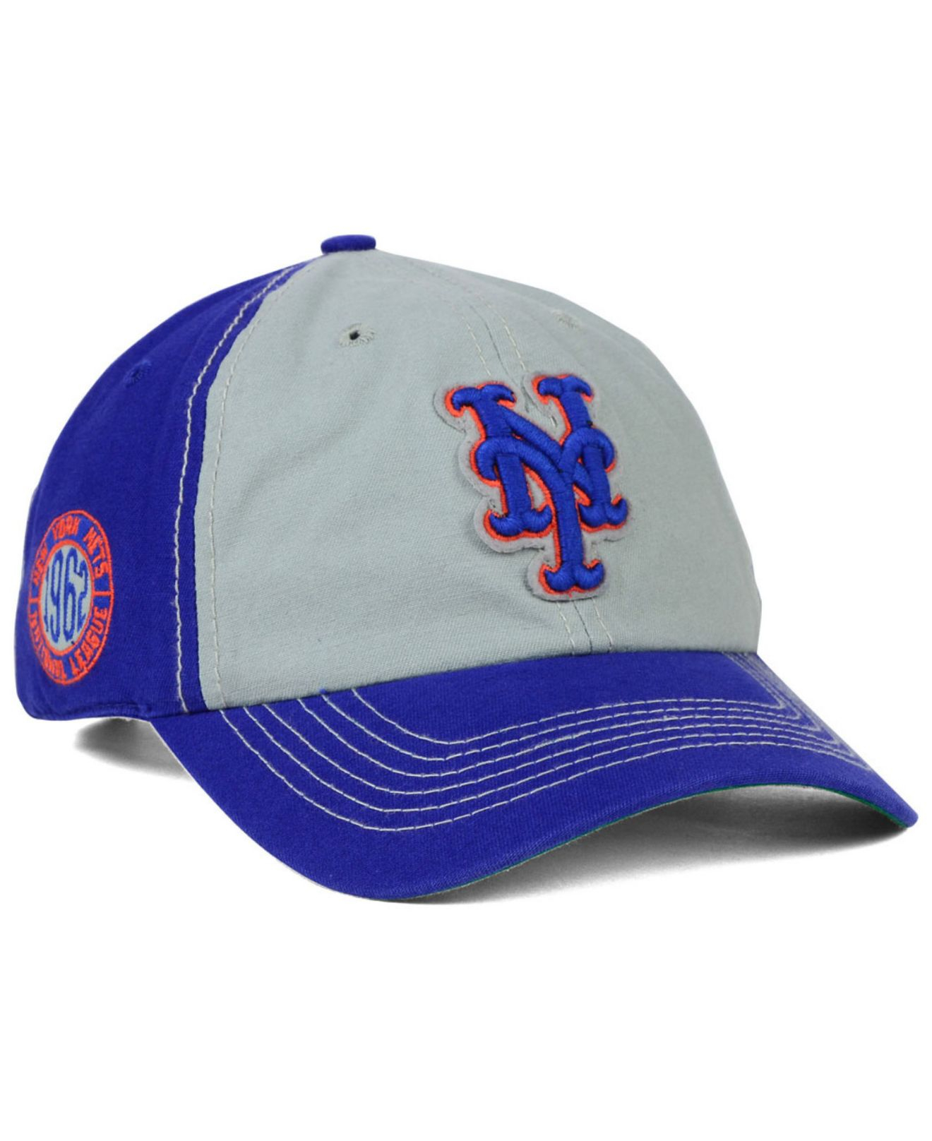superior quality 93a73 d7a68 ... blue orange summer cap caps mens 81a7f 0bce1  aliexpress lyst 47 brand new  york mets adjustable clean up cap in blue for men 778e8